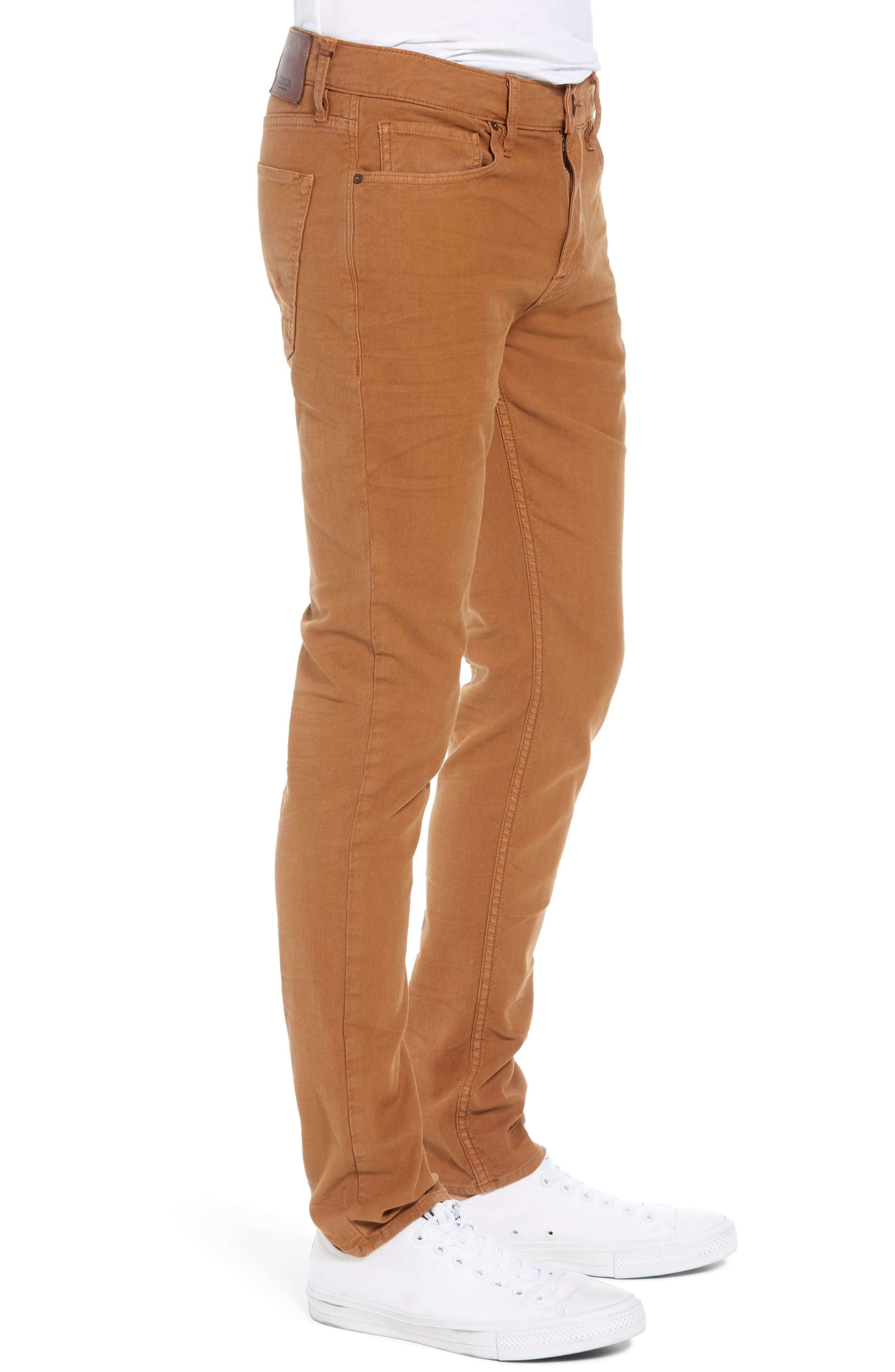 Axl Skinny Fit Jeans,                             Alternate thumbnail 3, color,                             SIENNA