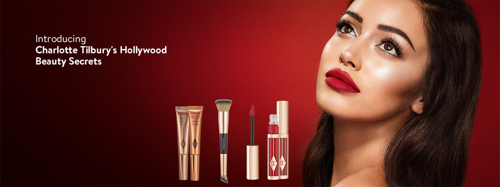 Introducing Charlotte Tilbury's Hollywood Beauty Secrets collection.