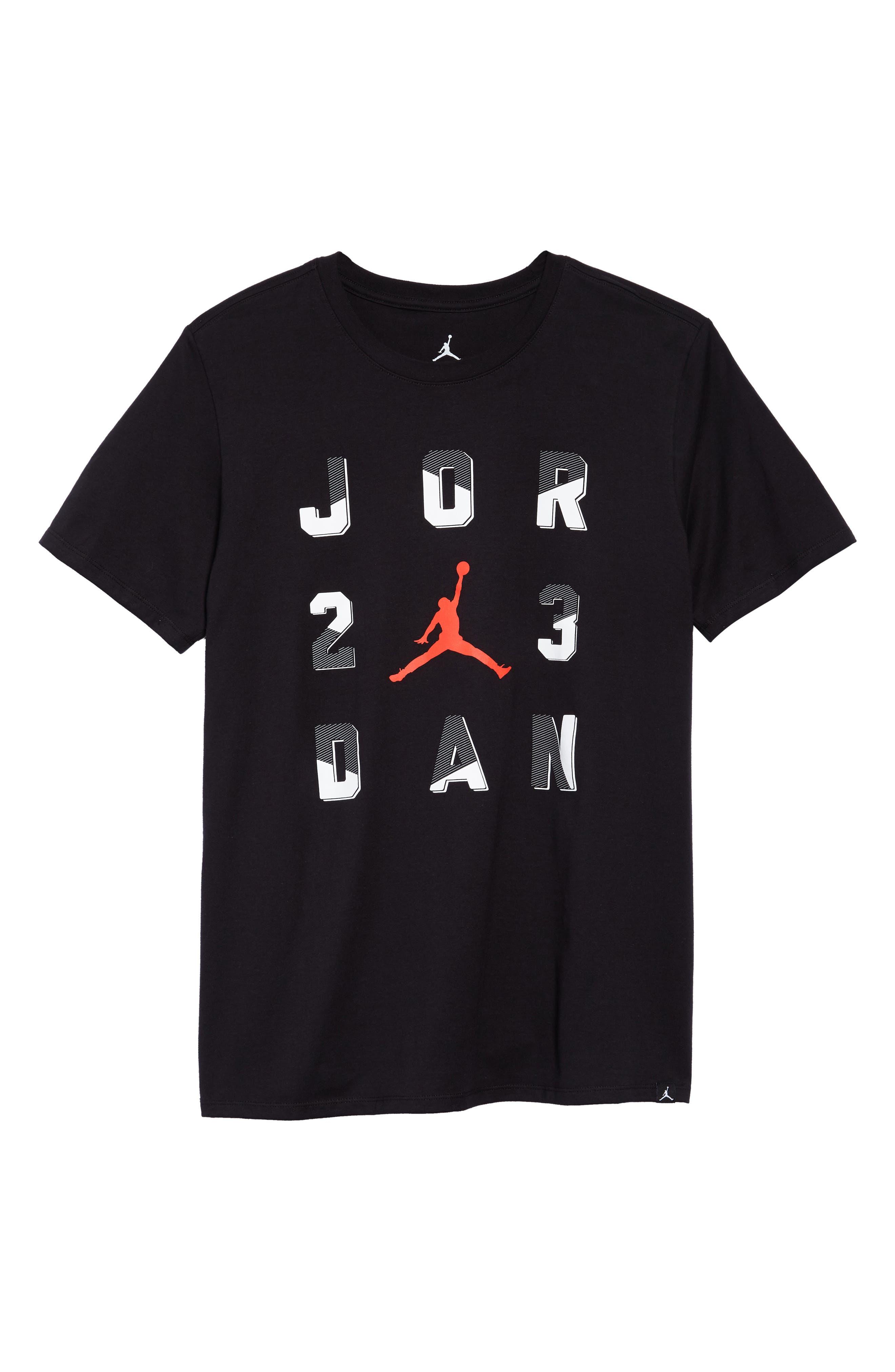Sportswear 23 T-Shirt,                             Alternate thumbnail 6, color,                             BLACK/ INFRARED 23