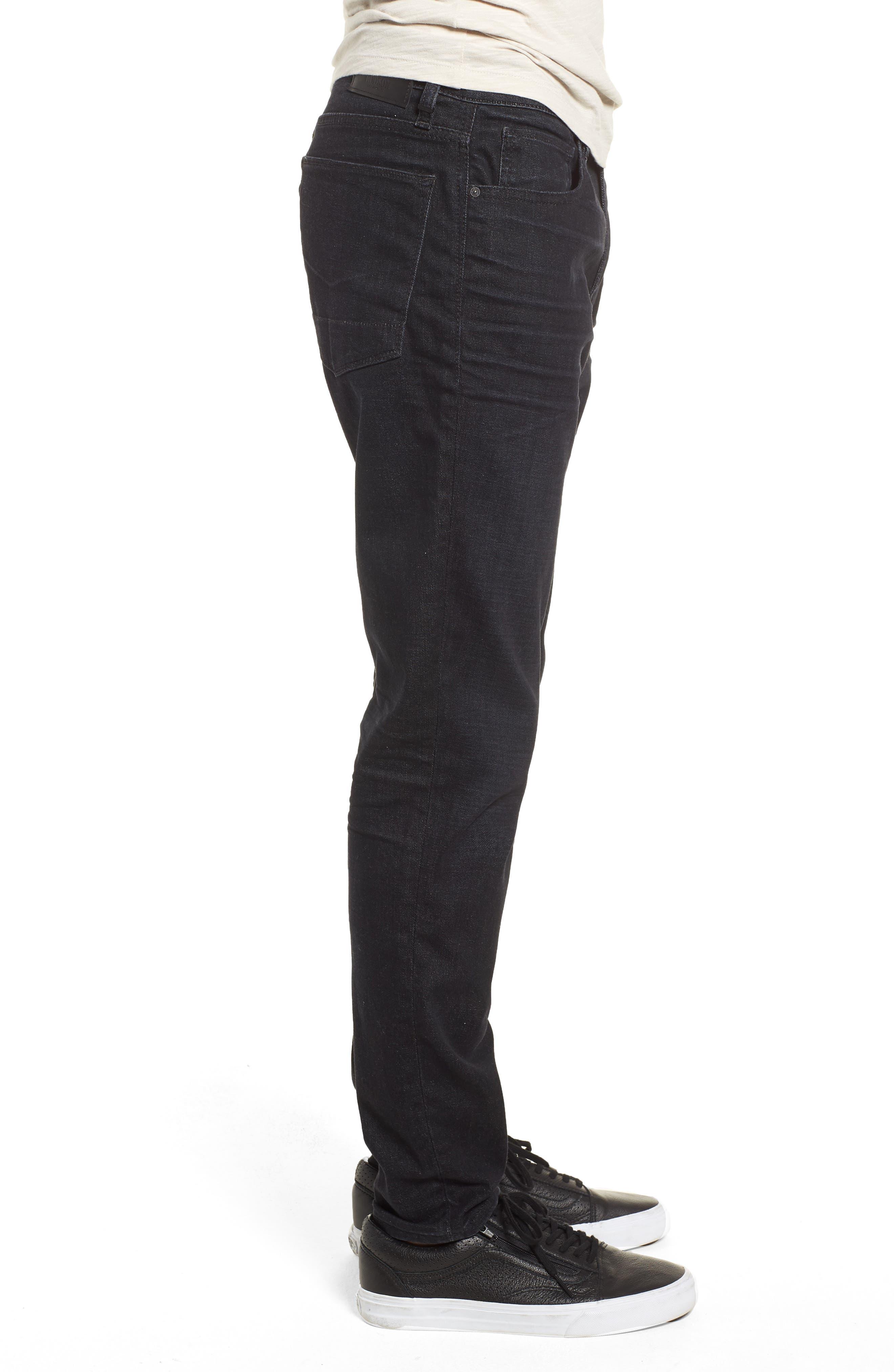 Zack Skinny Fit Jeans,                             Alternate thumbnail 3, color,                             001