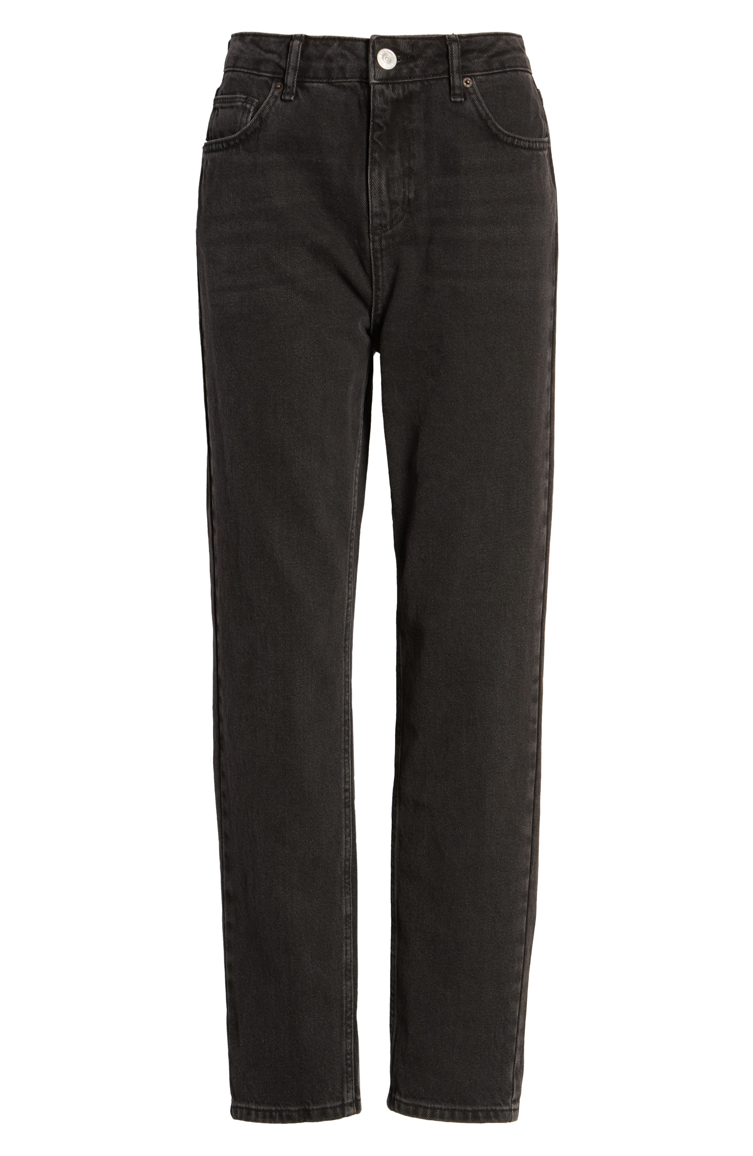 BDG,                             Urban Outfitters Mom Jeans,                             Alternate thumbnail 7, color,                             CARBON