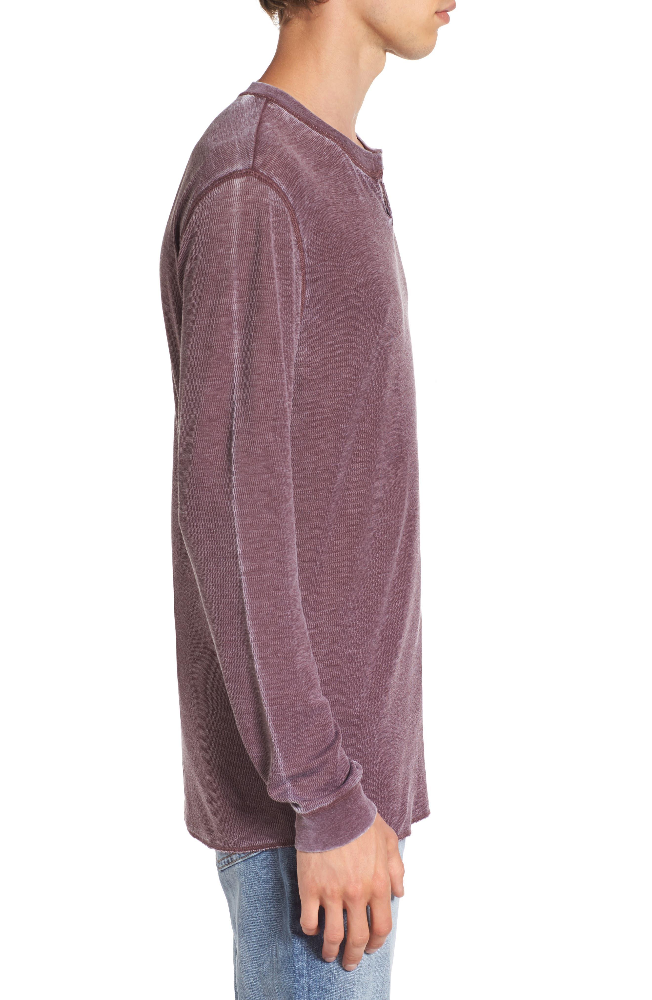 Notch Neck Thermal T-Shirt,                             Alternate thumbnail 21, color,