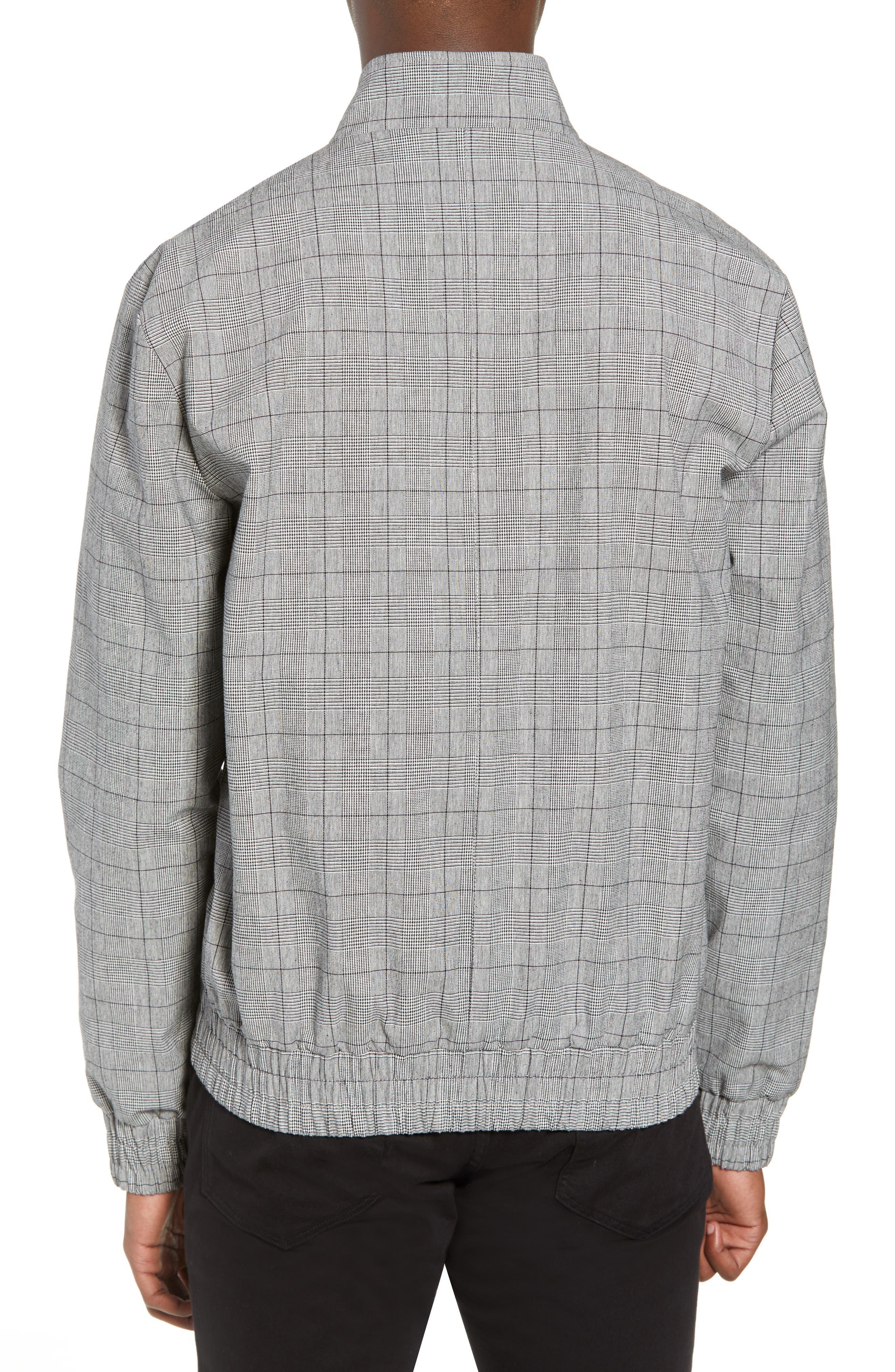 Check Harrington Jacket,                             Alternate thumbnail 2, color,                             020