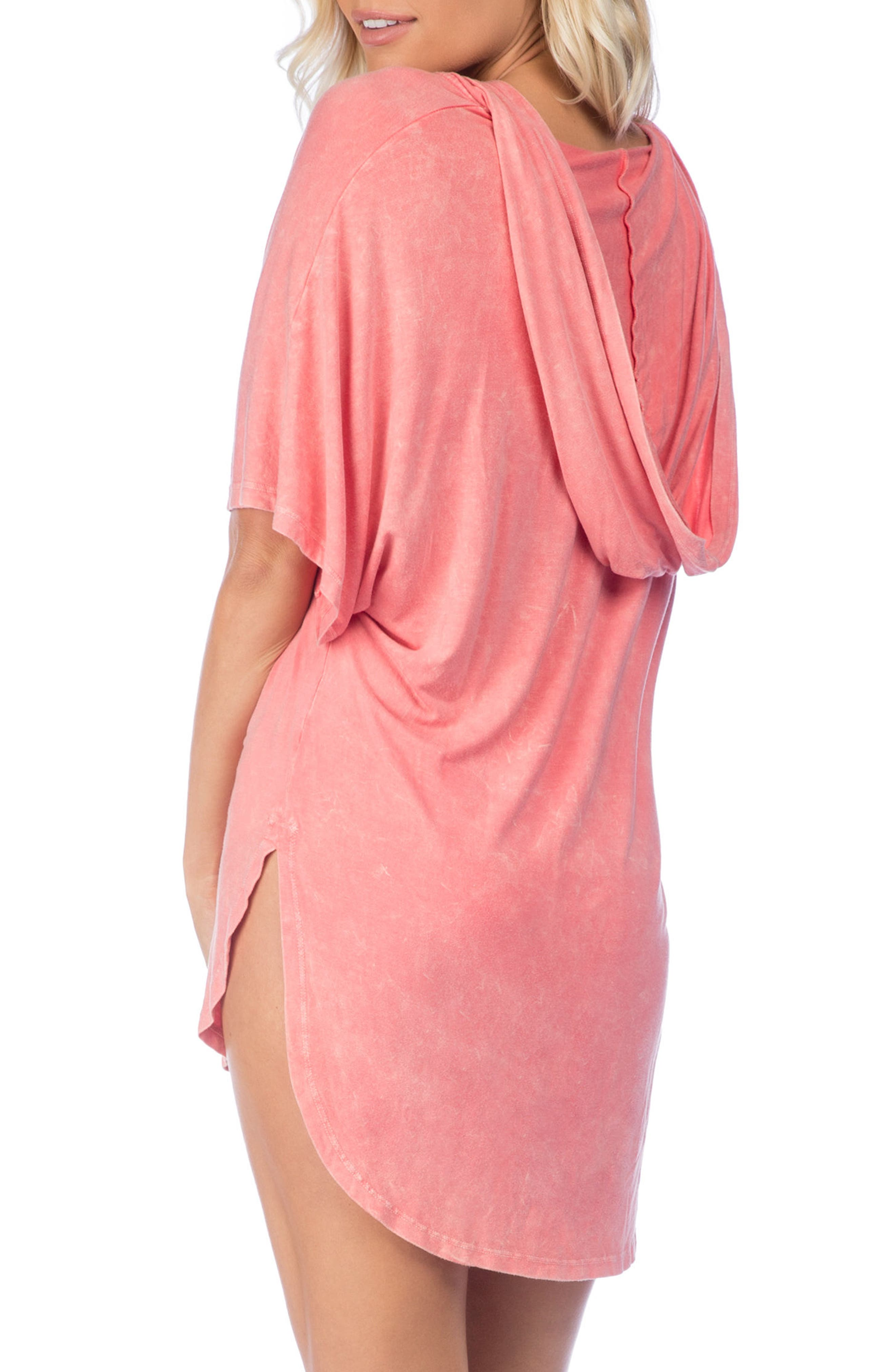 Riviera Hooded Cover-Up,                             Alternate thumbnail 6, color,
