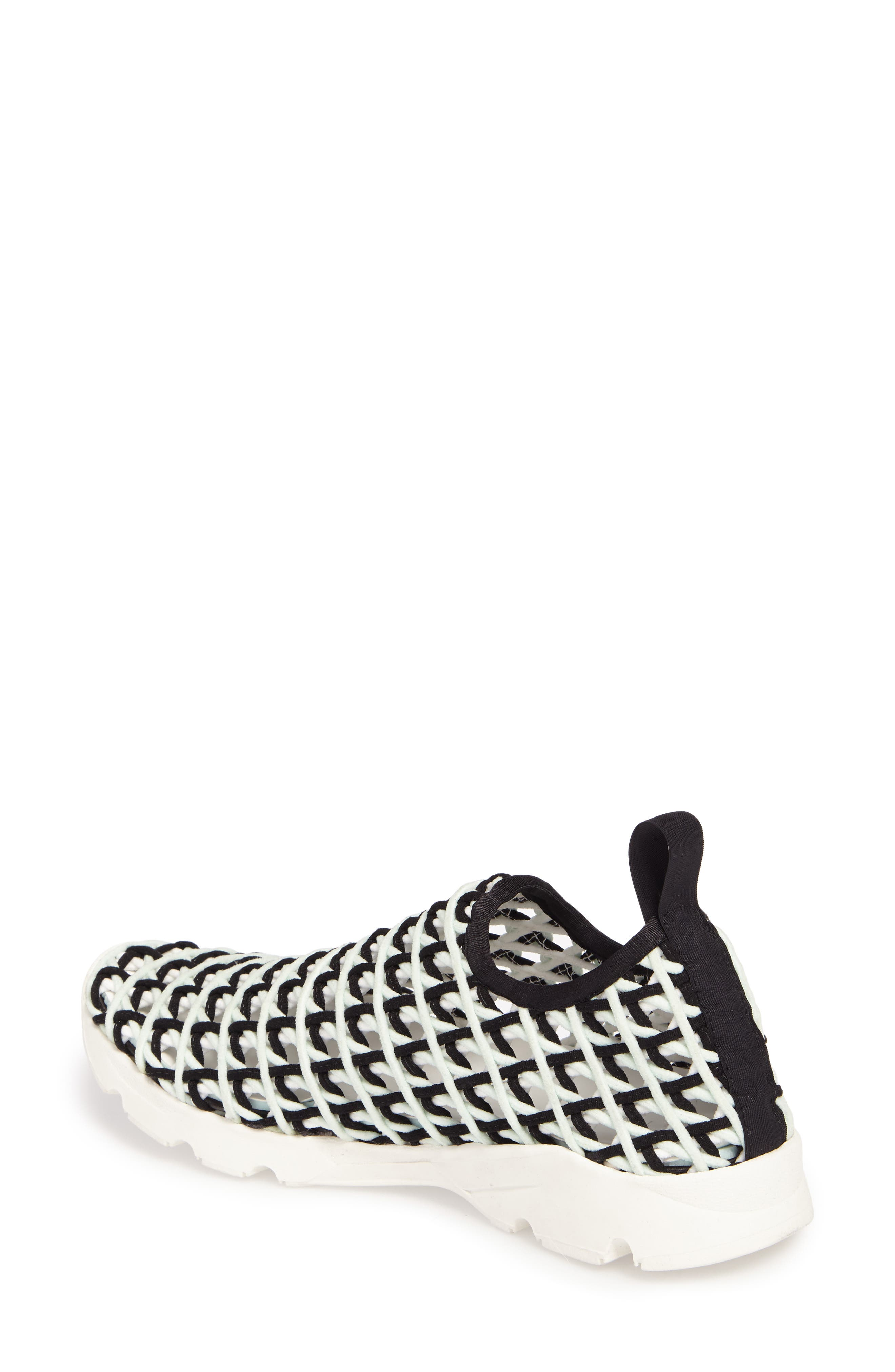Willow Open Knit Sneaker,                             Alternate thumbnail 4, color,