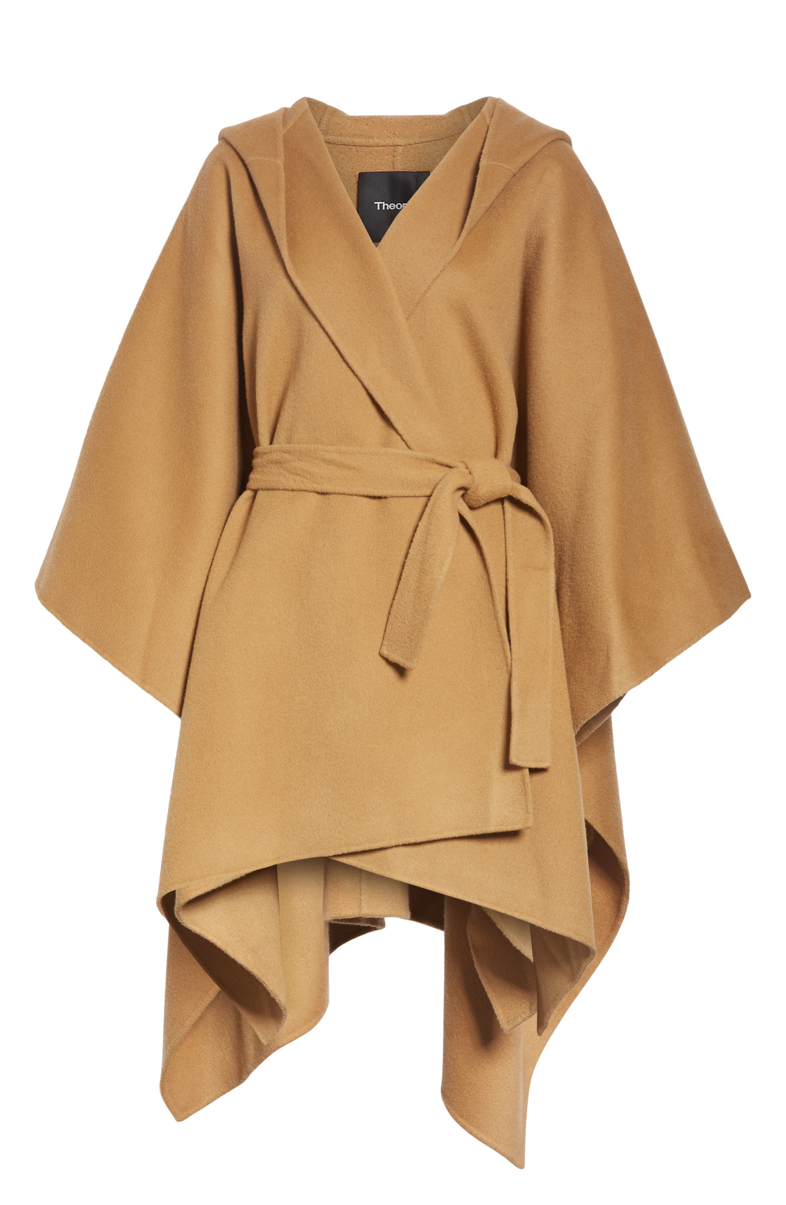 New Divide Hooded Poncho Coat,                             Alternate thumbnail 5, color,                             200