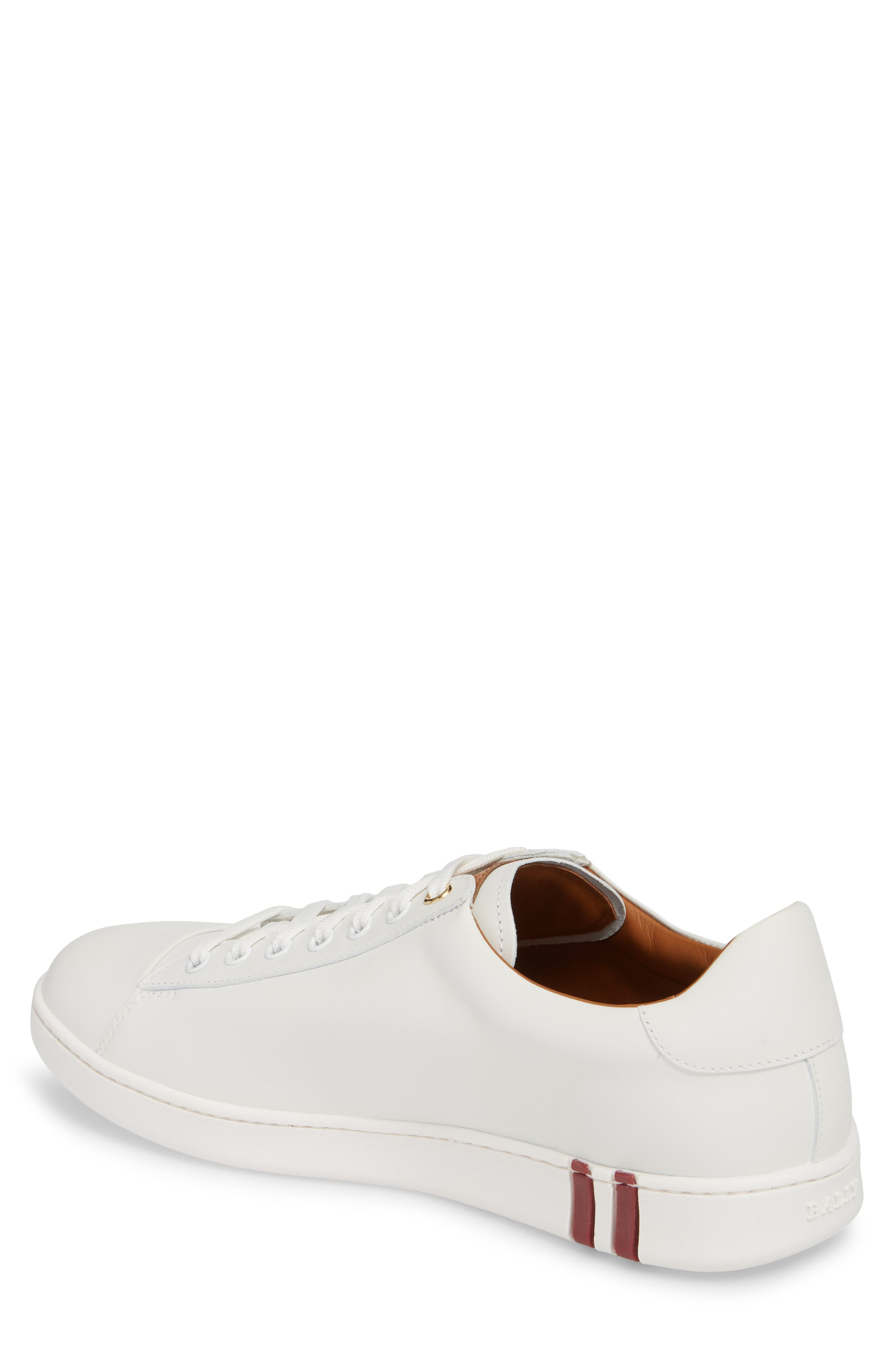 Winston Low Top Sneaker,                             Alternate thumbnail 2, color,                             WHITE