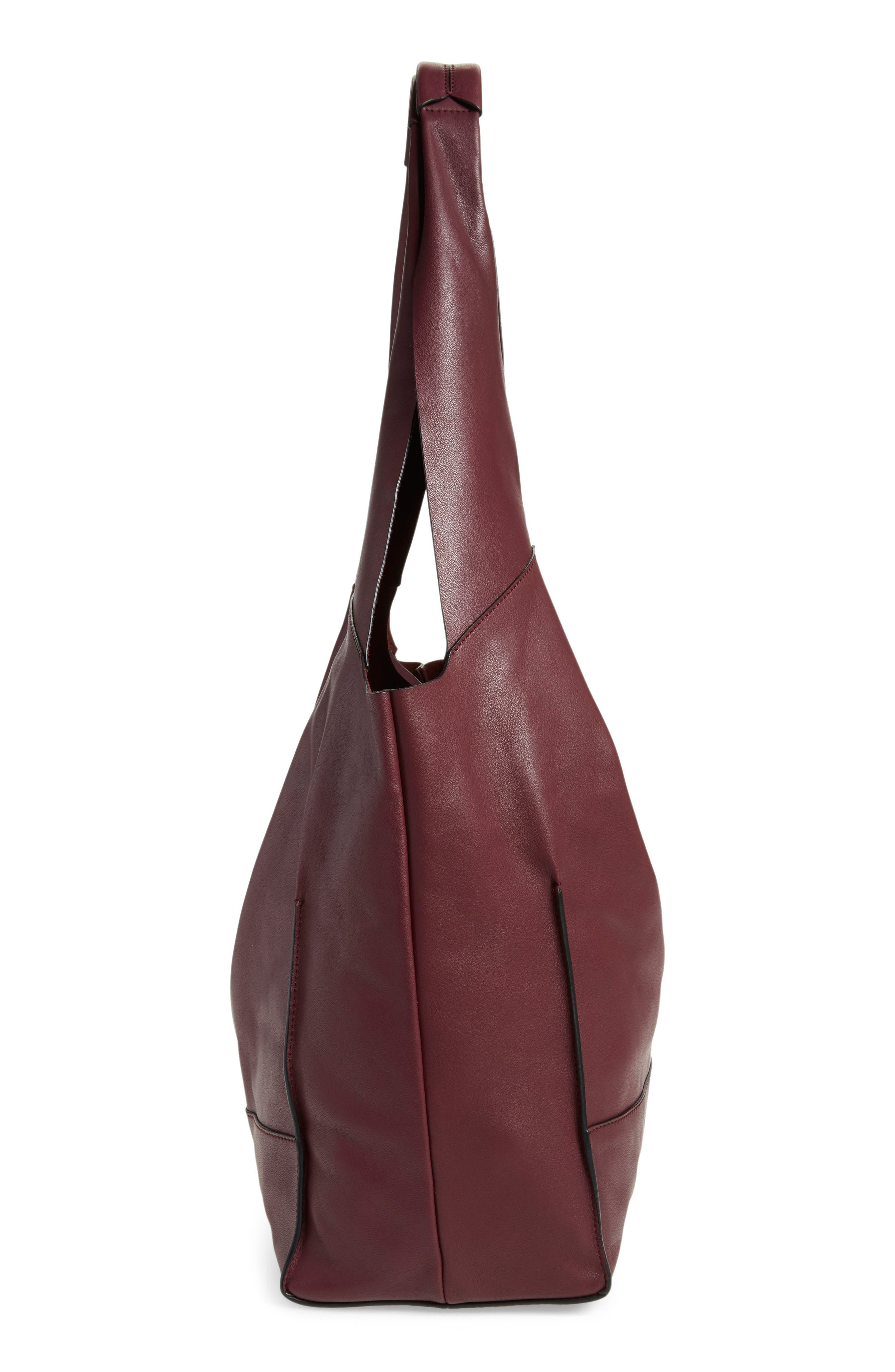 Walker Leather Tote,                             Alternate thumbnail 6, color,