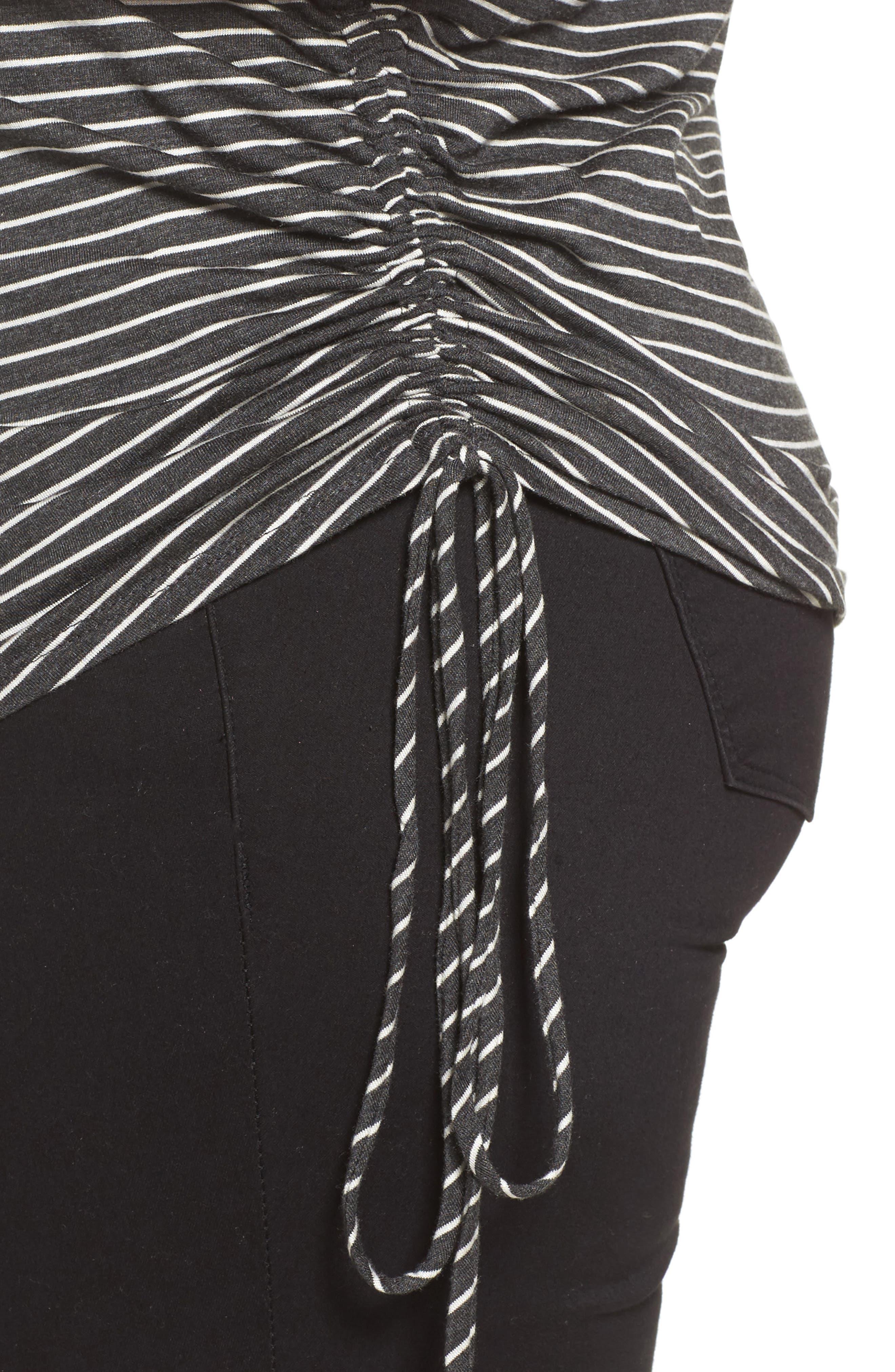 Drawstring Side V-Neck Top,                             Alternate thumbnail 30, color,