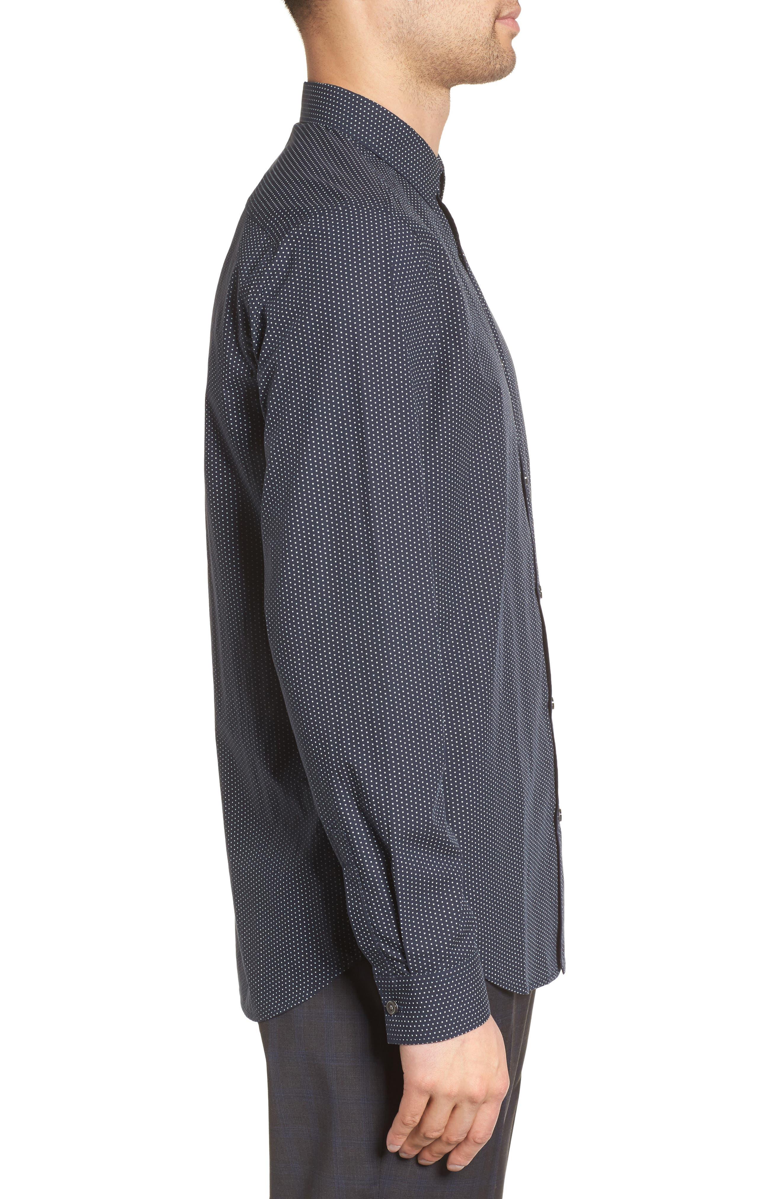 Murray Slim Fit Sport Shirt,                             Alternate thumbnail 6, color,