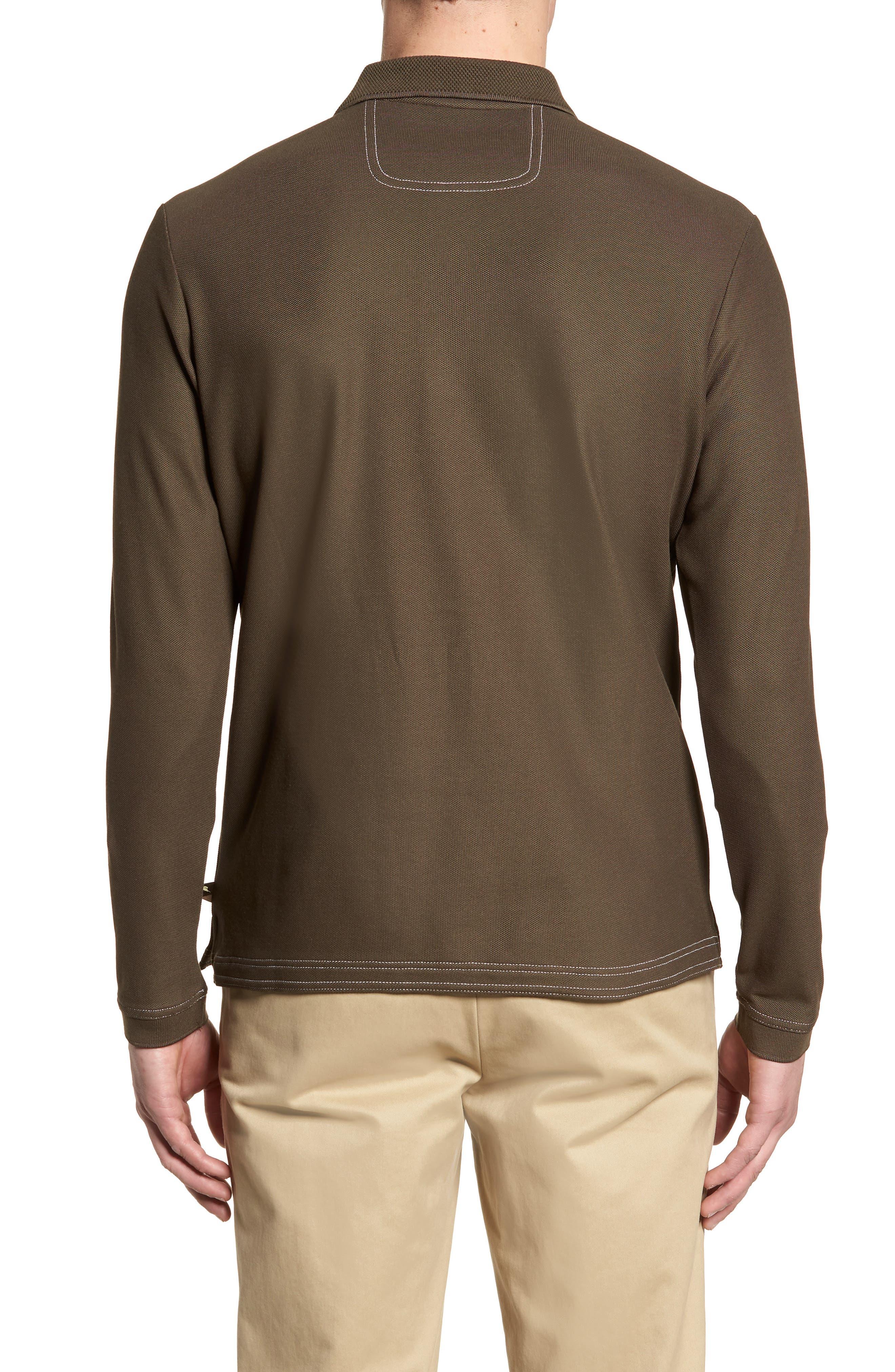 Emfielder Long Sleeve Polo,                             Alternate thumbnail 14, color,