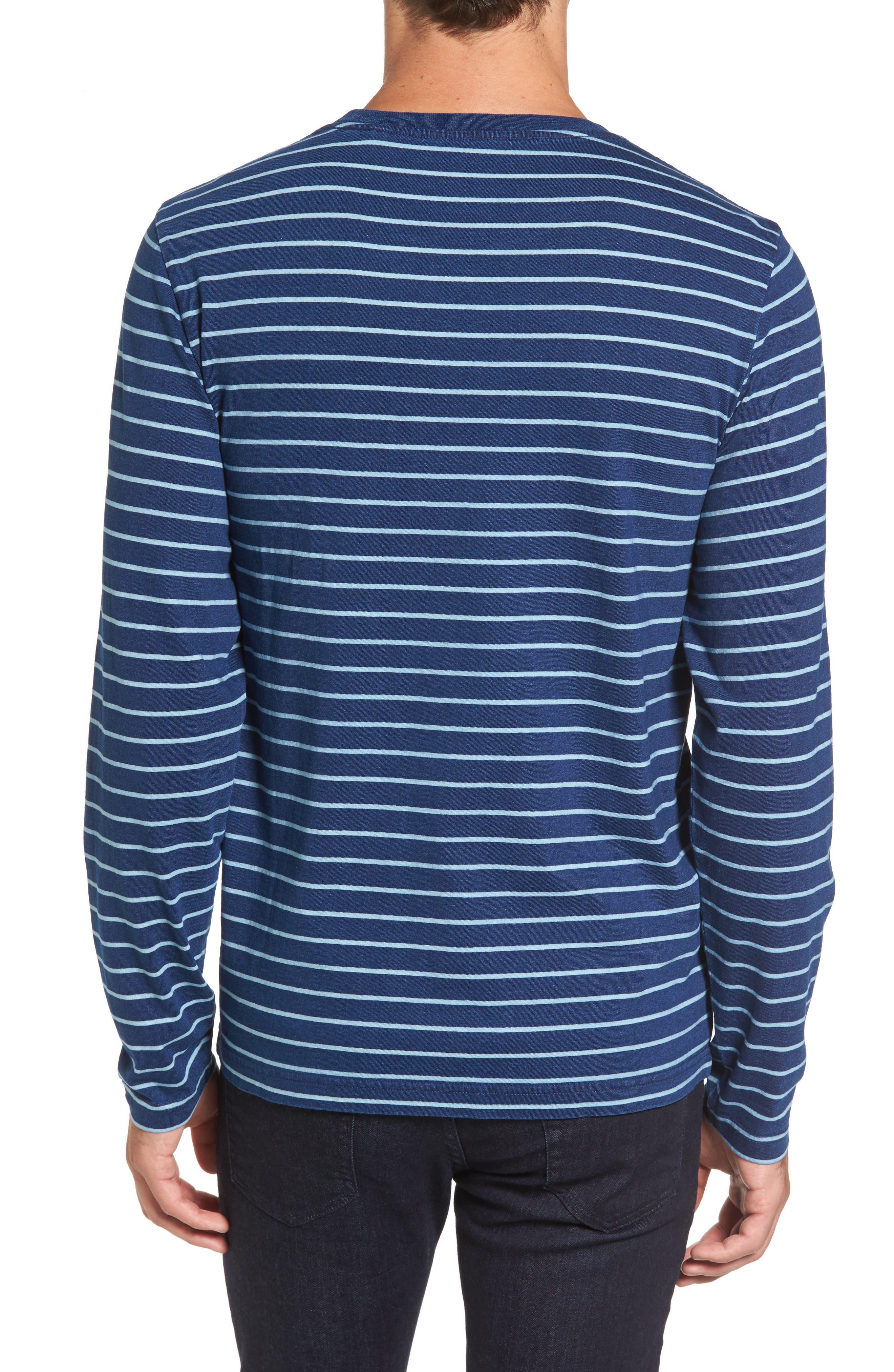Sailor Stripe Jersey T-Shirt,                             Alternate thumbnail 2, color,                             104
