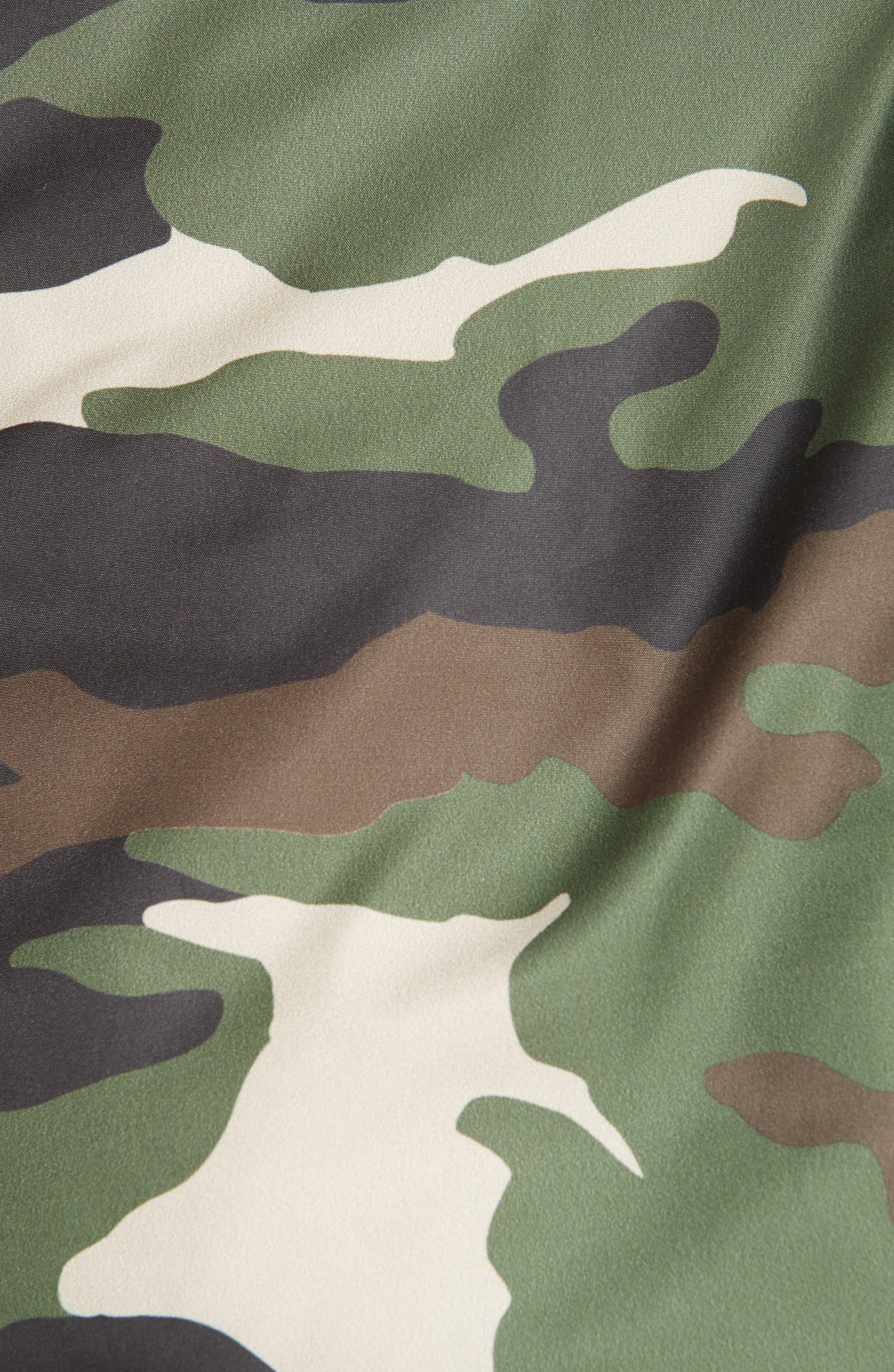 BACON,                             Big Blanket 78 Camo Puffer Coat,                             Alternate thumbnail 6, color,                             300