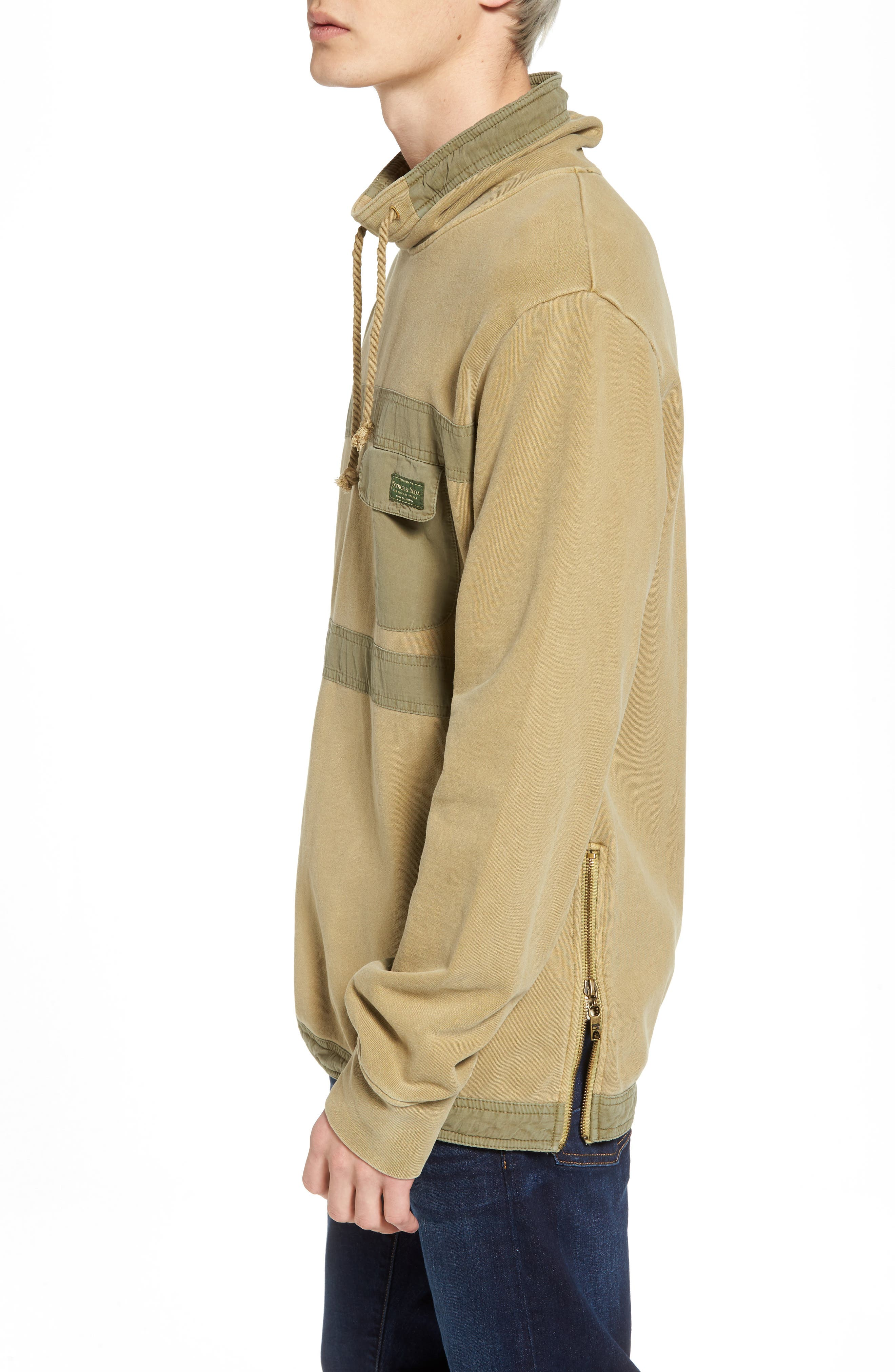 Garment Dyed Sweatshirt,                             Alternate thumbnail 3, color,                             700