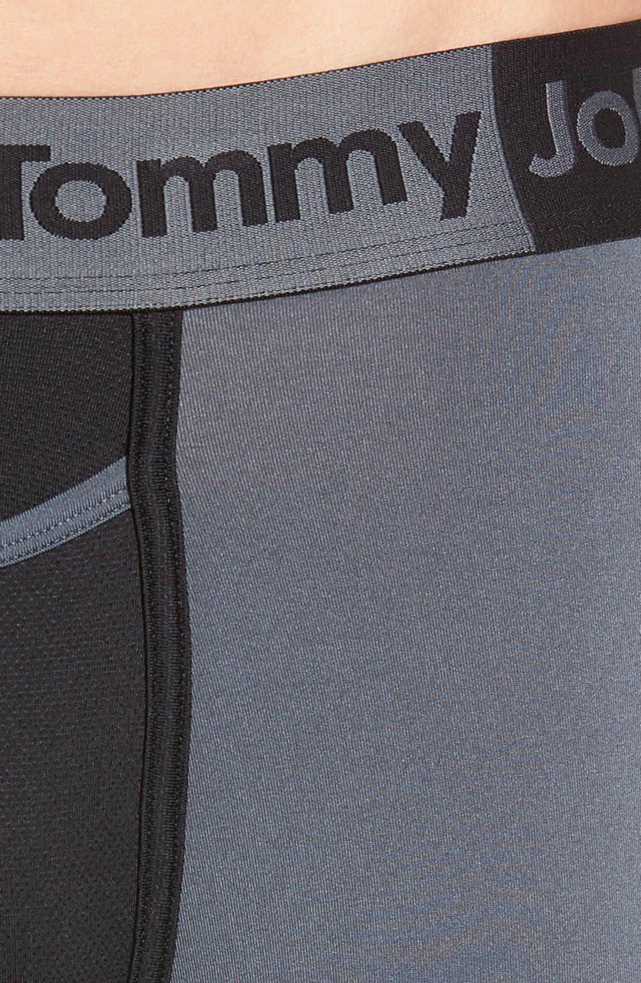 360 2.0 Boxer Briefs,                             Alternate thumbnail 4, color,                             TURBULENCE/ BLACK