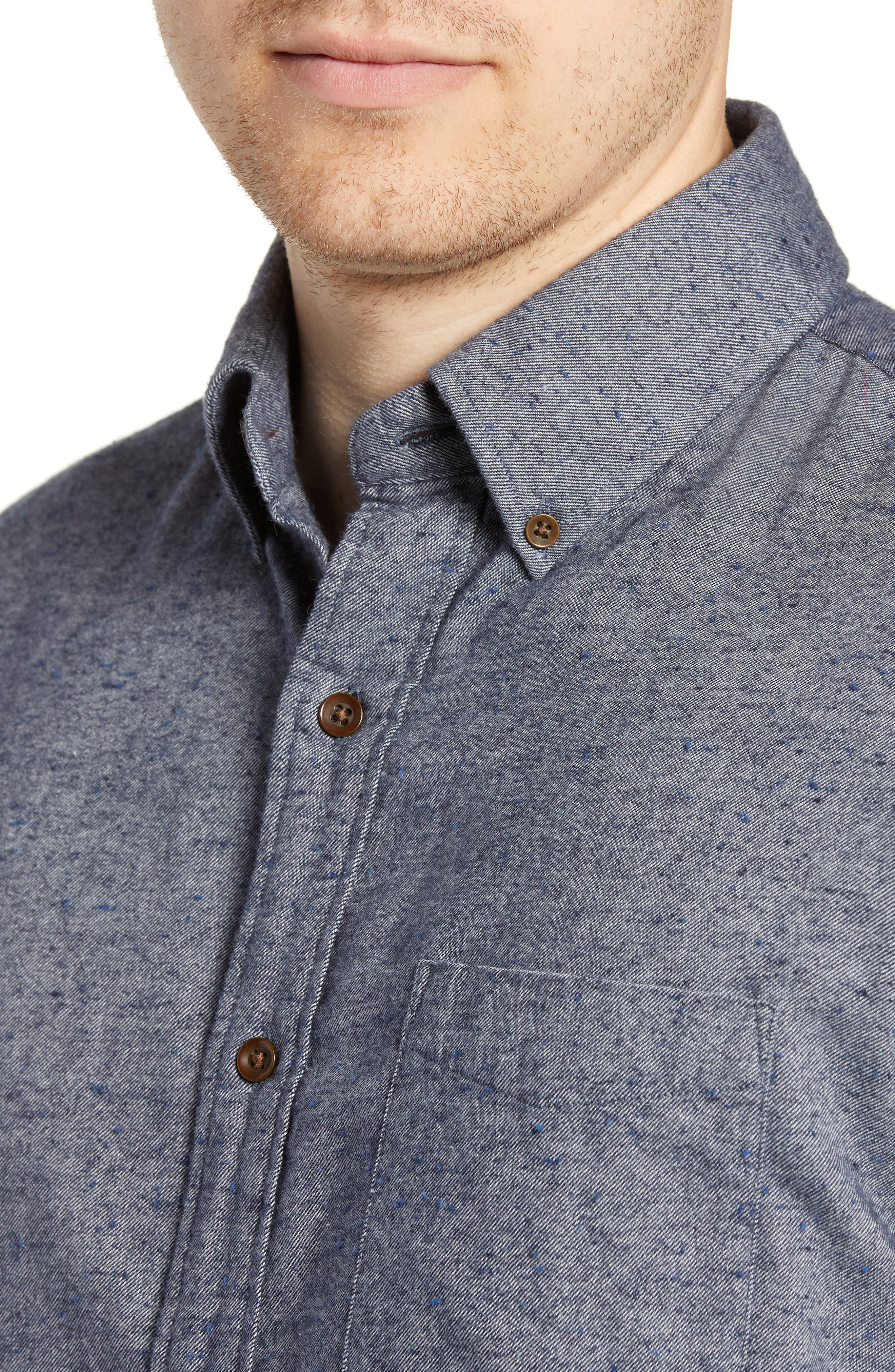 Pacific Regular Fit Sport Shirt,                             Alternate thumbnail 2, color,                             NAVY