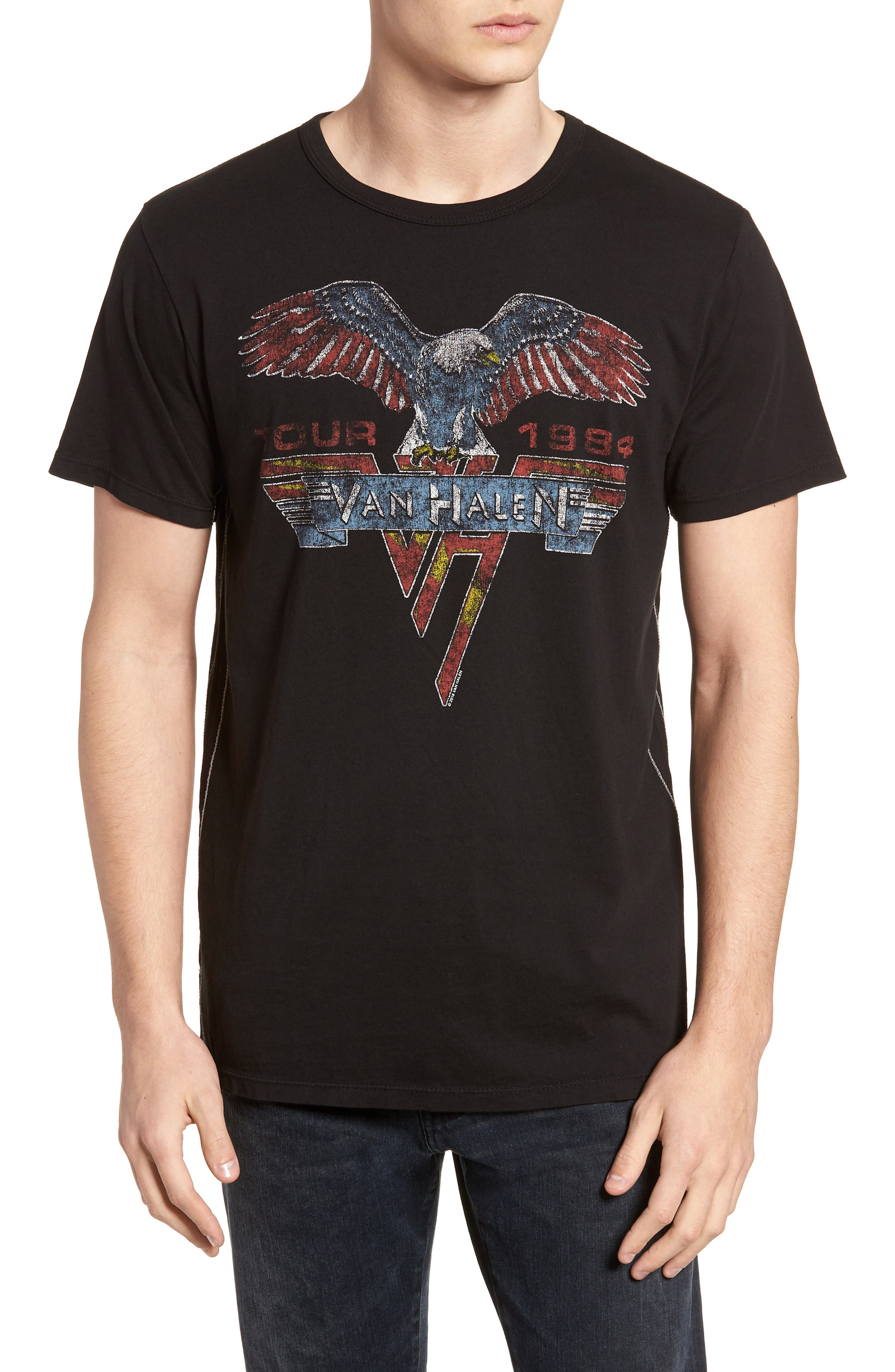 Van Halen T-Shirt,                             Main thumbnail 1, color,                             001