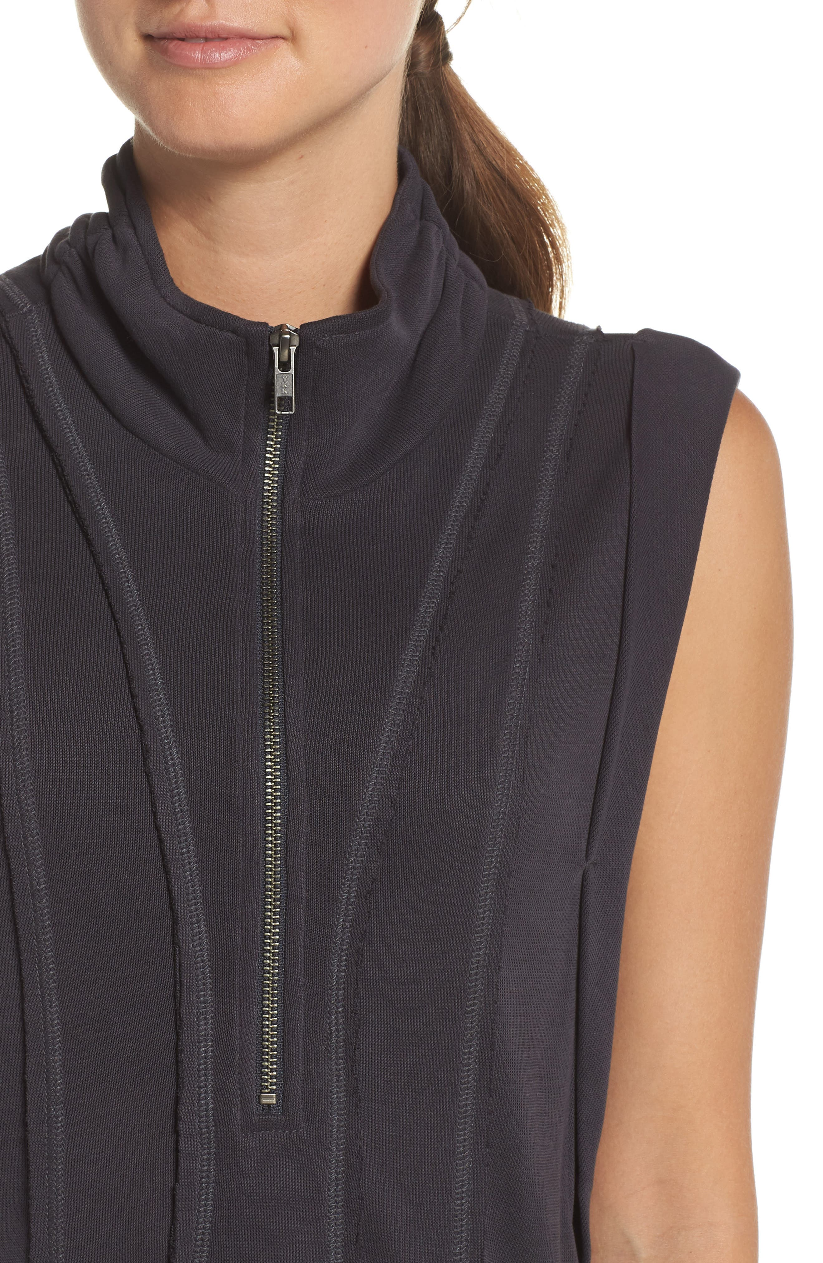 Just Like That Half-Zip Pullover,                             Alternate thumbnail 4, color,                             BLACK