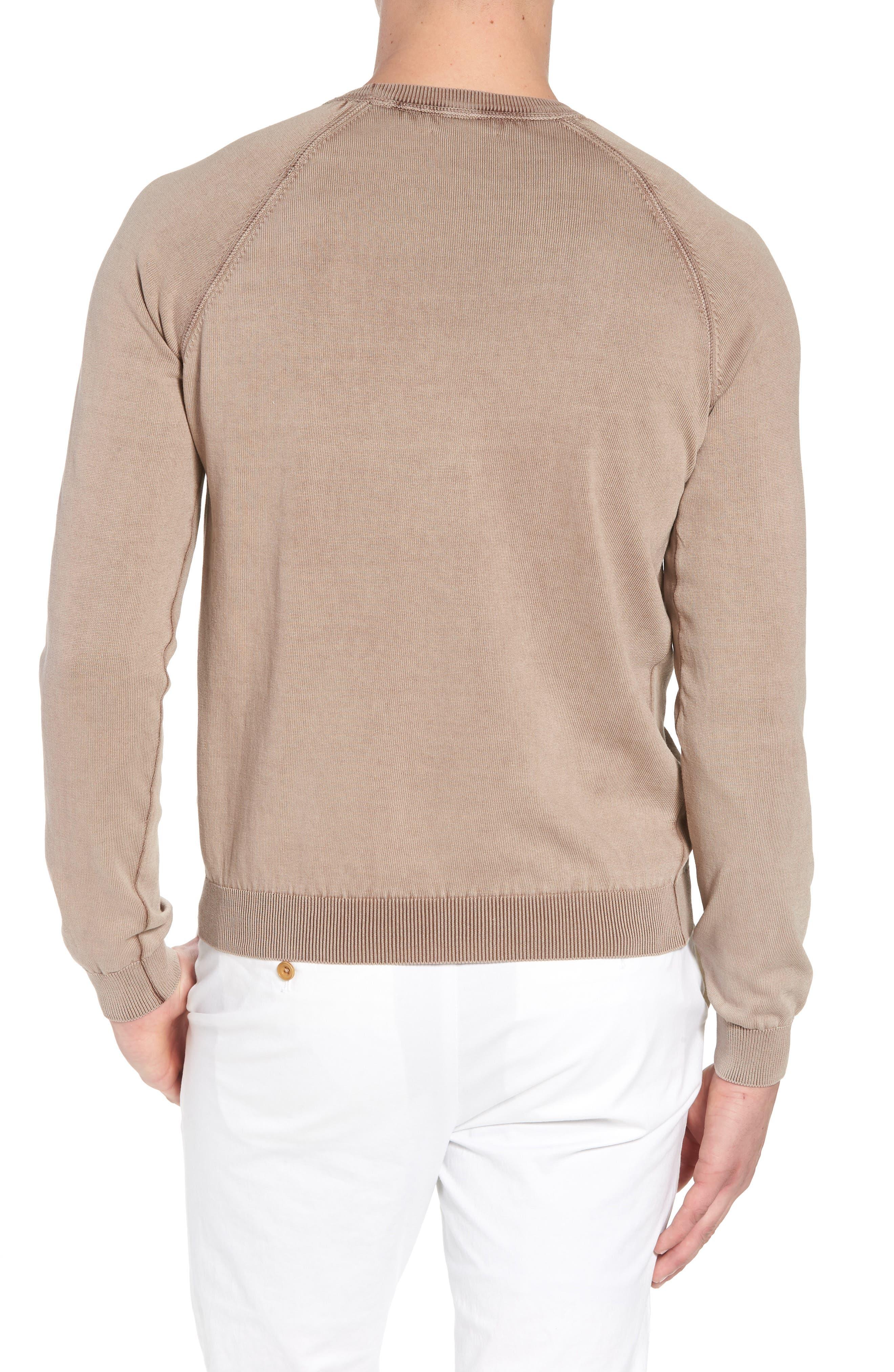 Stonewash Cotton Sweatshirt,                             Alternate thumbnail 2, color,
