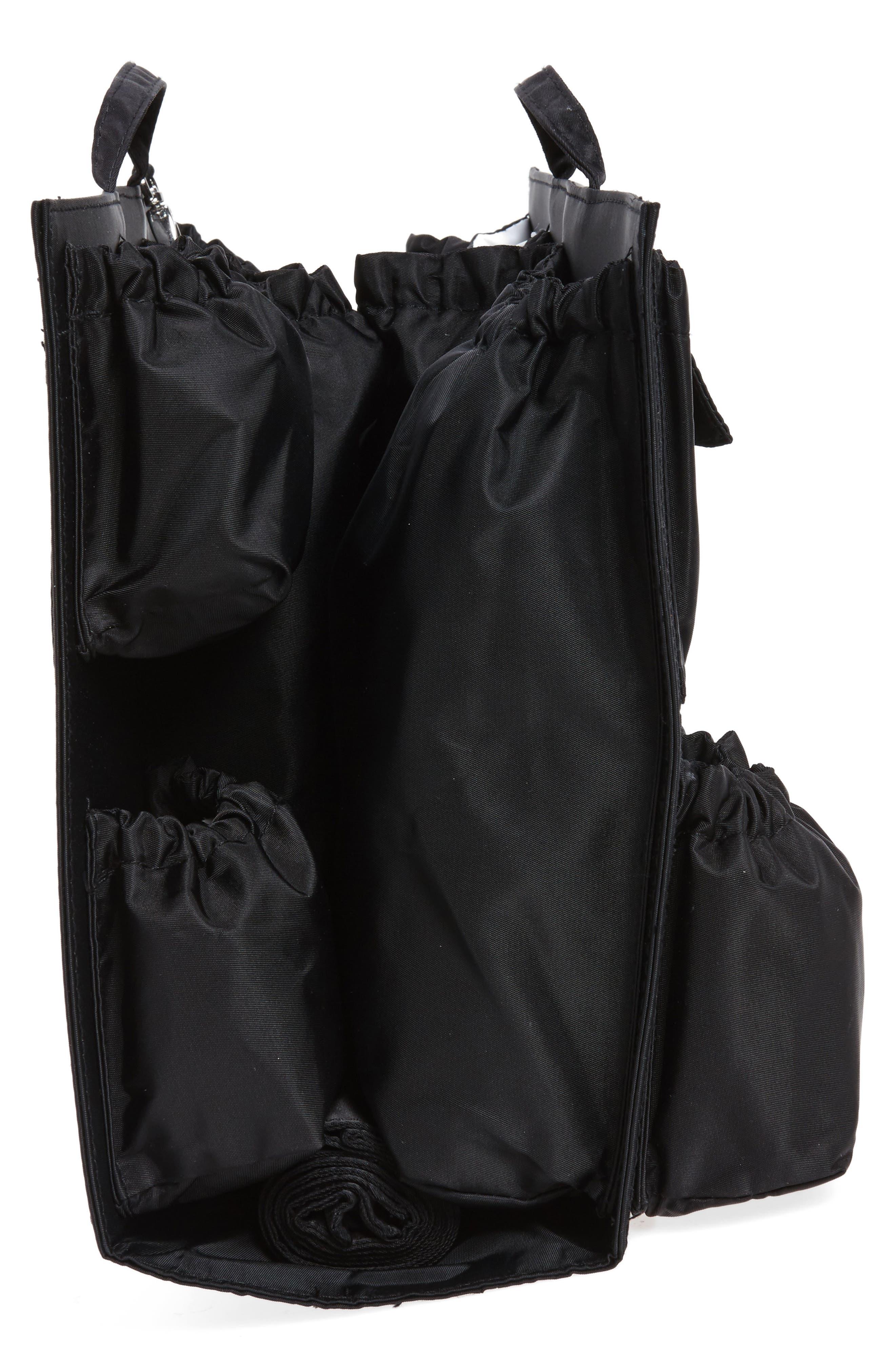 Organization Handbag Insert,                             Alternate thumbnail 5, color,                             CLASSIC BLACK