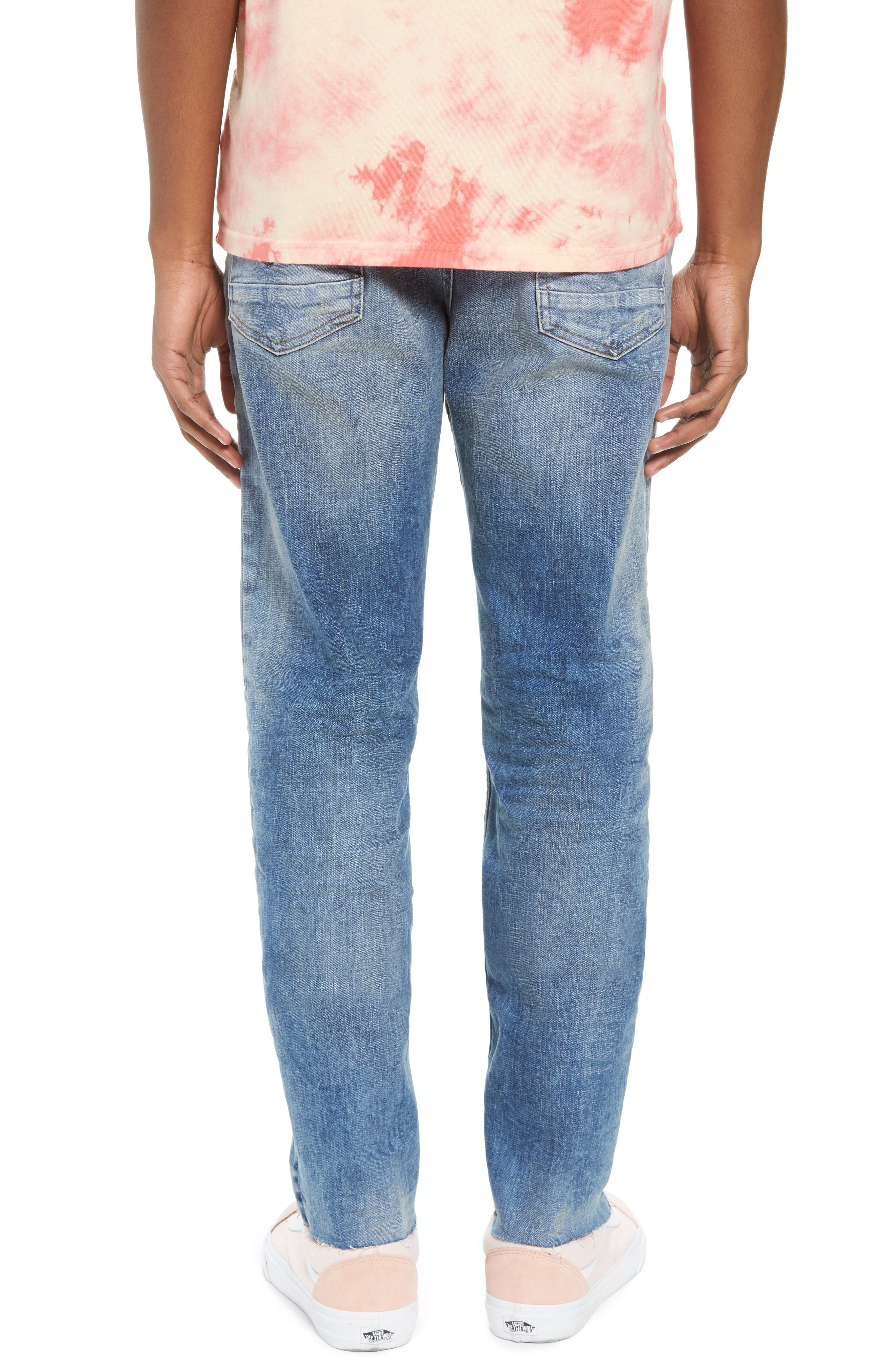 Sartor Slouchy Skinny Fit Jeans,                             Alternate thumbnail 2, color,                             429