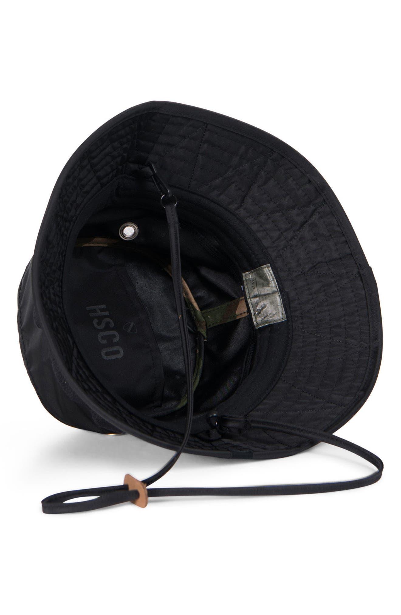Creek Surplus Collection Bucket Hat,                             Alternate thumbnail 3, color,                             001