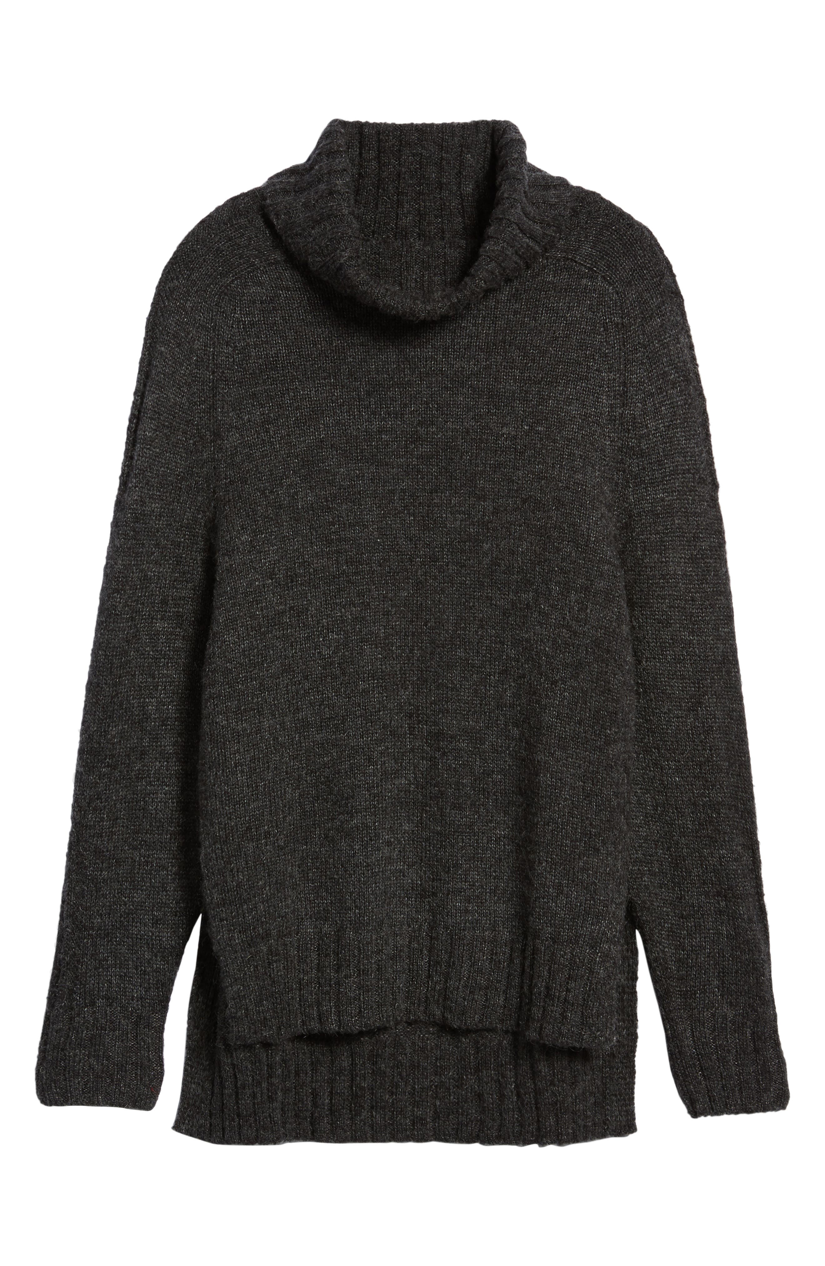 Stacy Turtleneck Sweater,                             Alternate thumbnail 6, color,                             020