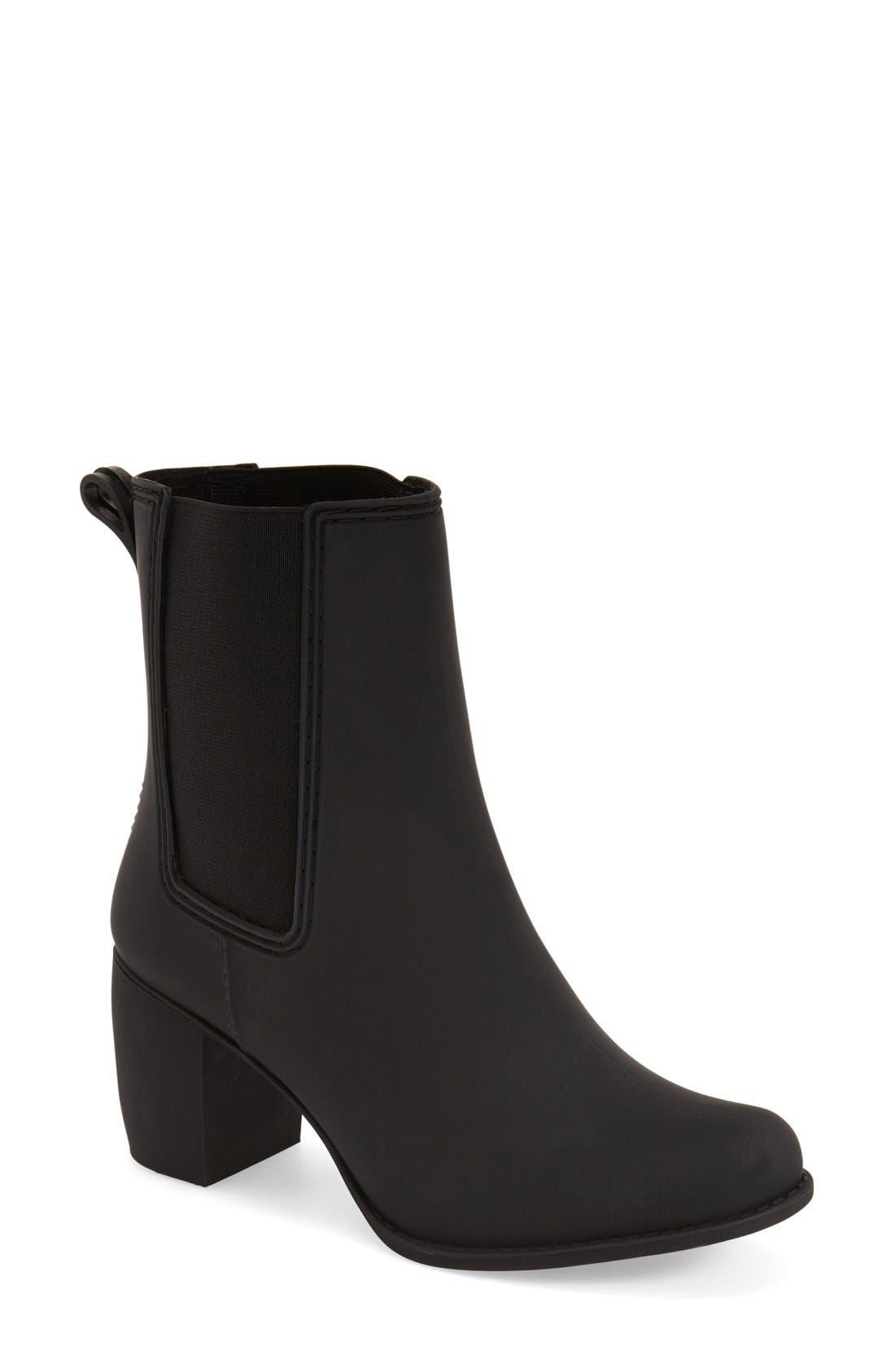 Clima Chelsea Rain Boot,                         Main,                         color, BLACK MATTE
