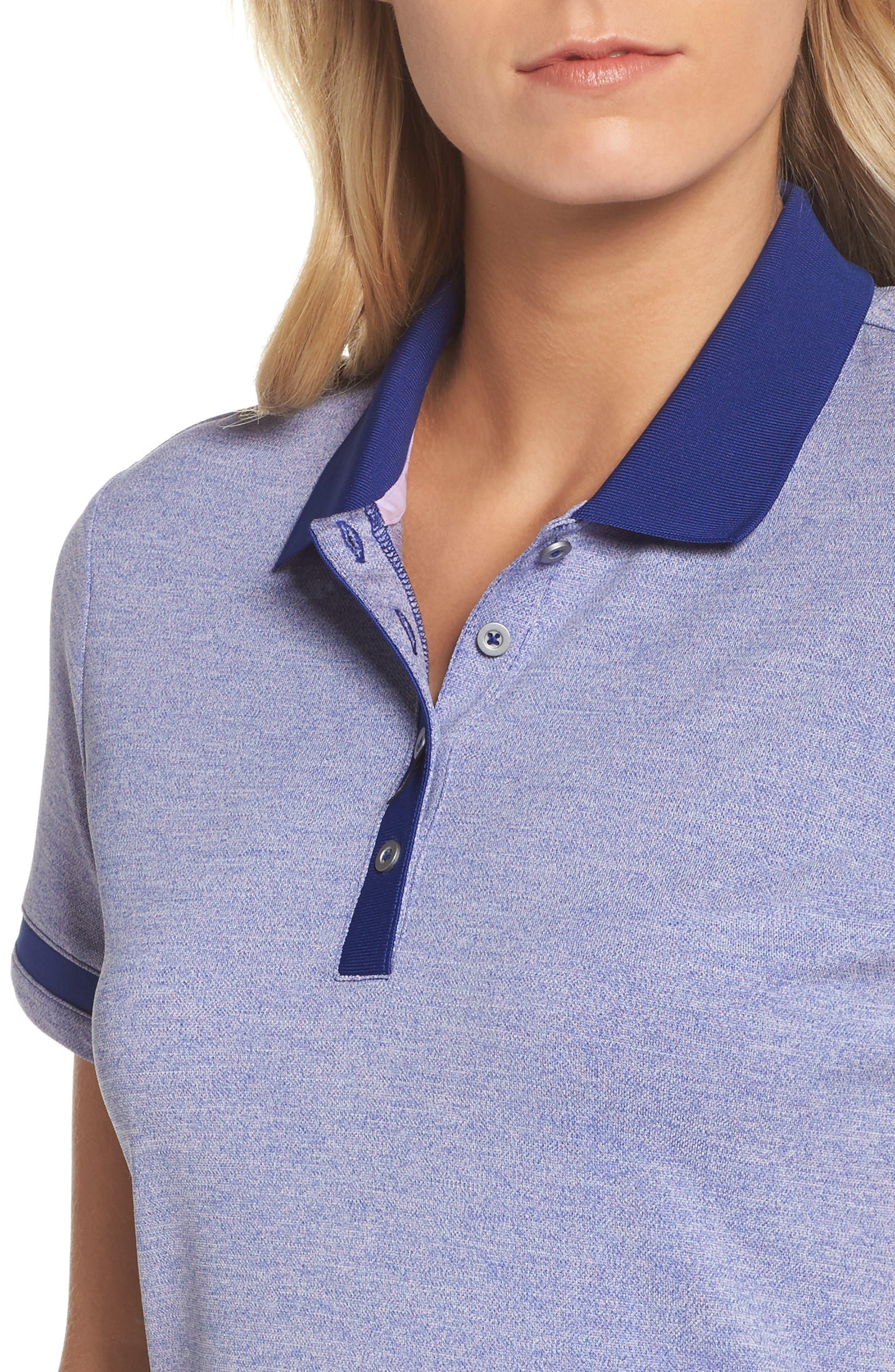 Piqué Knit Golf Polo,                             Alternate thumbnail 4, color,                             404