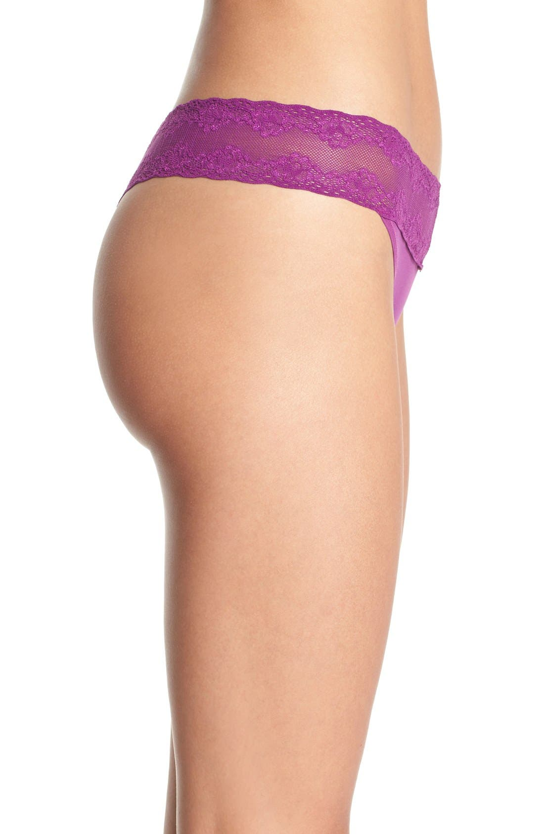 Bliss Perfection Thong,                             Alternate thumbnail 368, color,