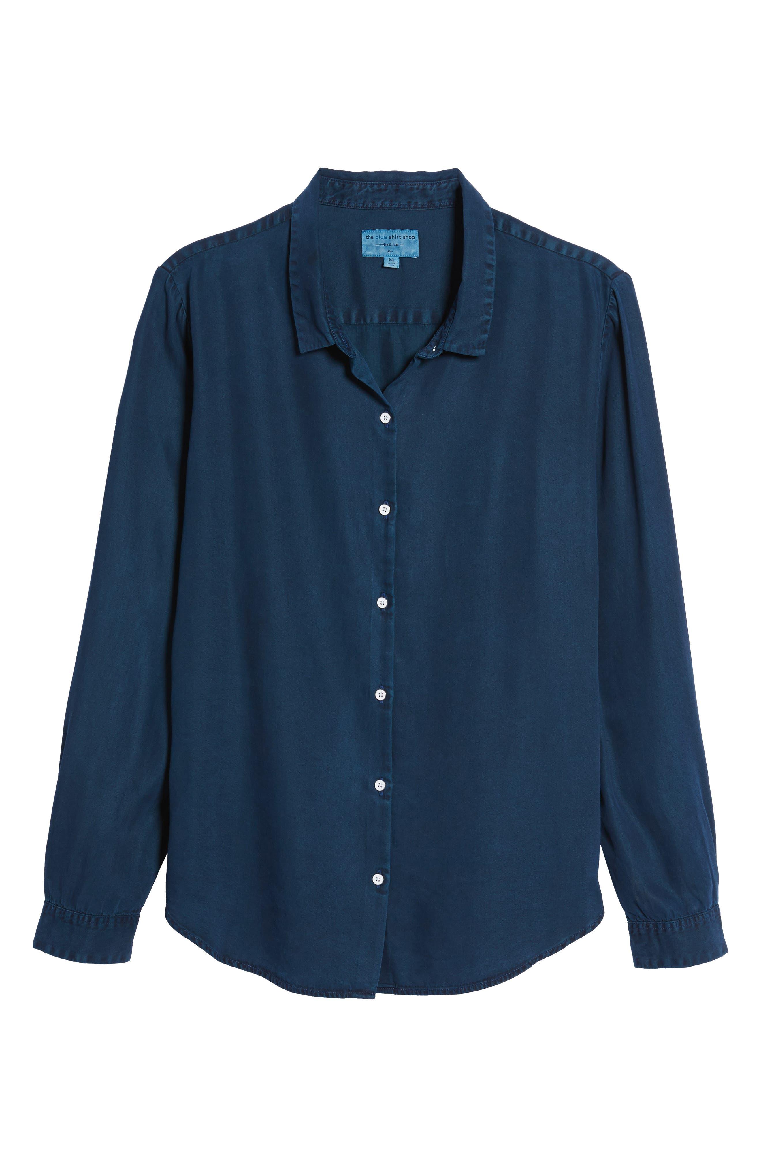 x The Blue Shirt Shop W 4th & Jane Slim Fit Shirt,                             Alternate thumbnail 6, color,                             405