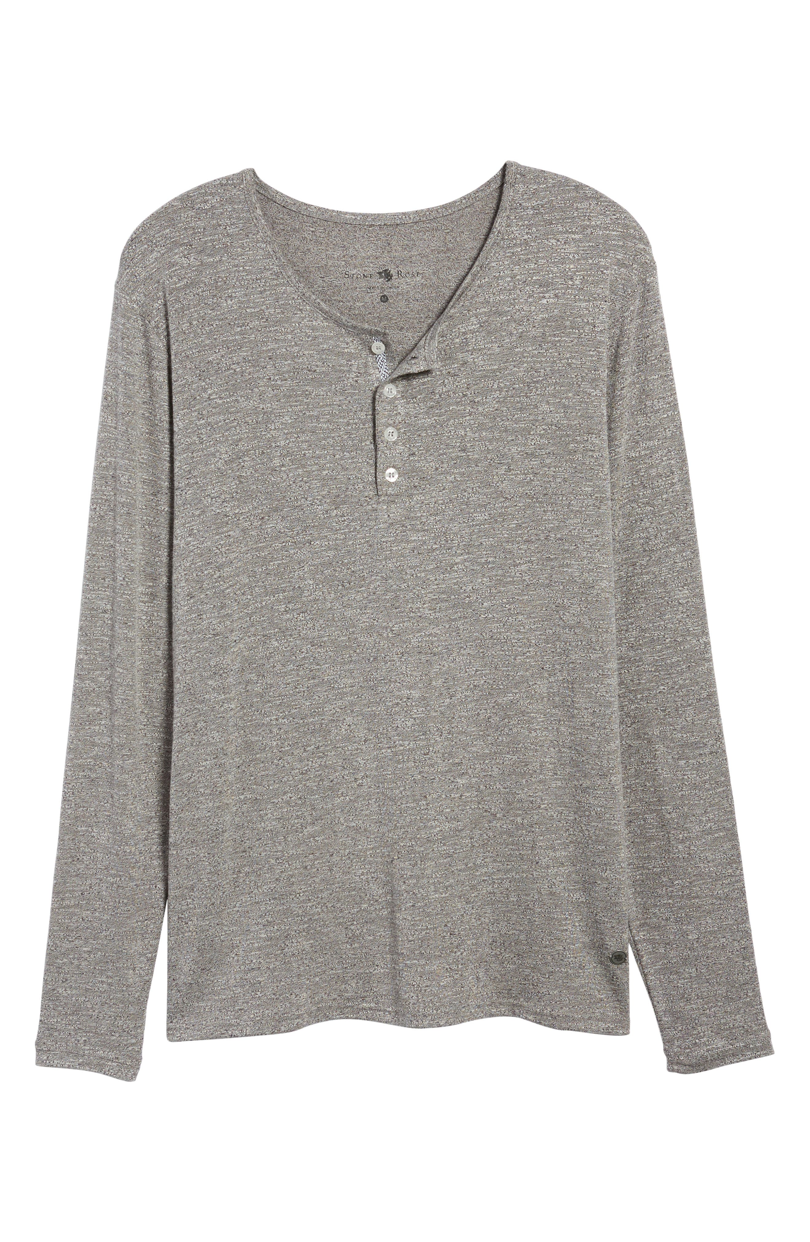 Light Flame Henley,                             Alternate thumbnail 6, color,                             GREY