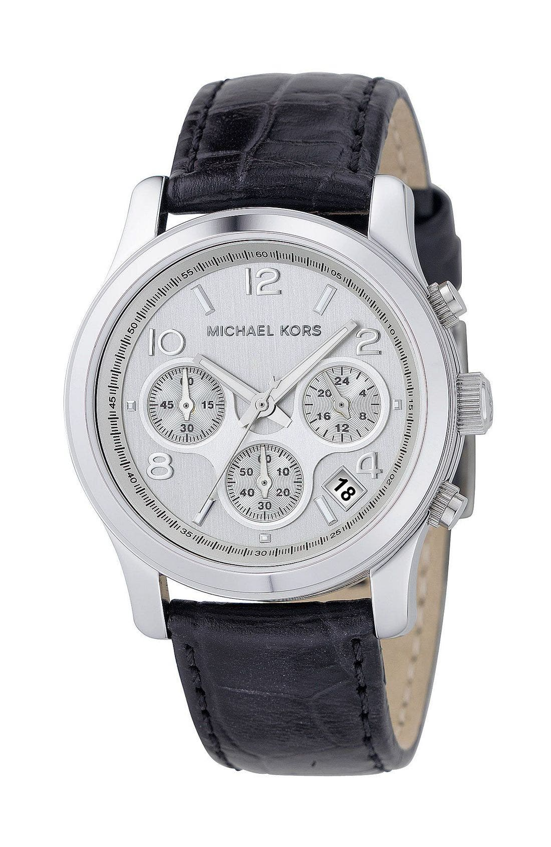 'Runway' Chronograph Watch, 38mm,                             Main thumbnail 1, color,                             001