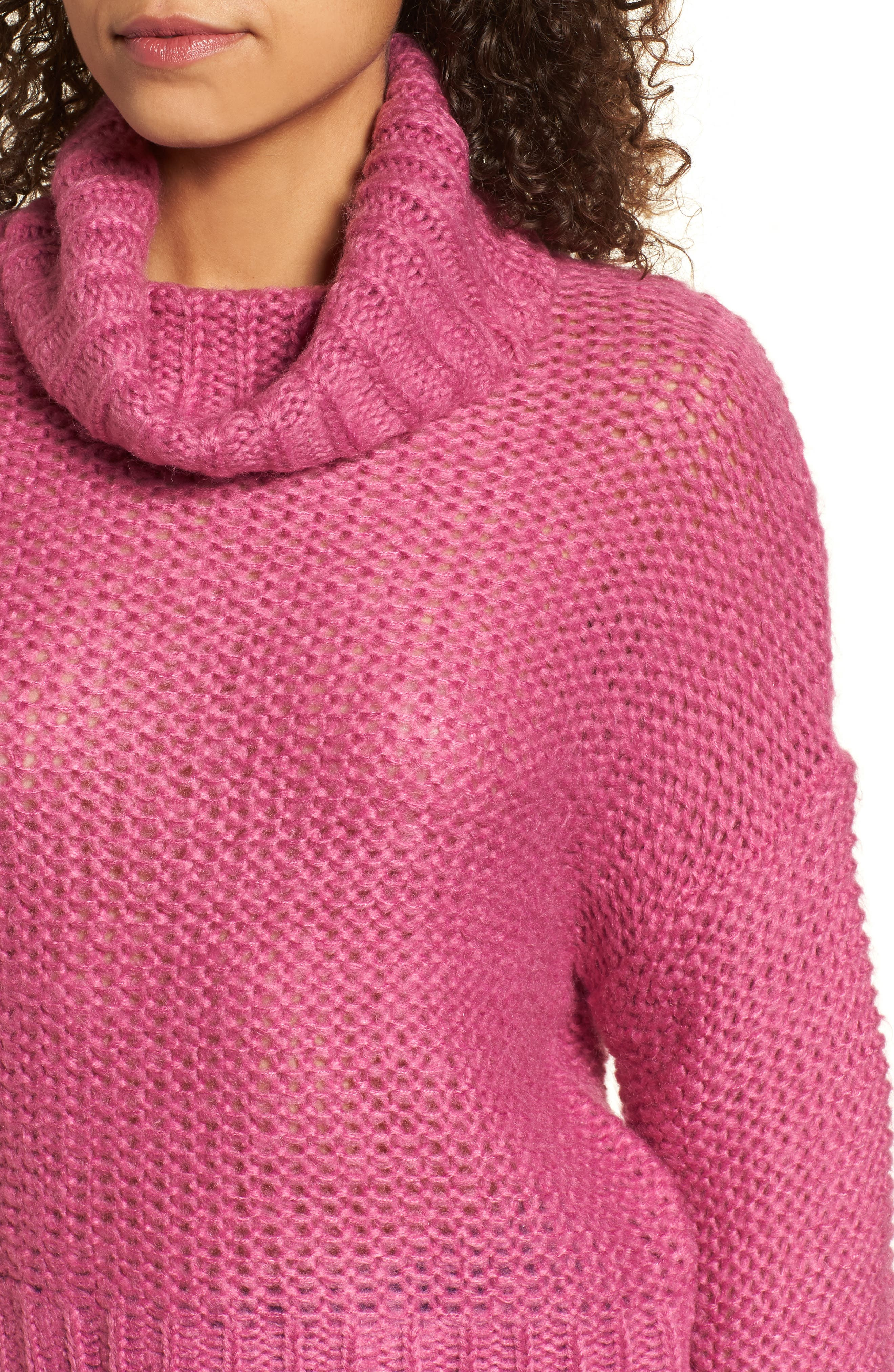 Stay Here Turtleneck Sweater,                             Alternate thumbnail 6, color,