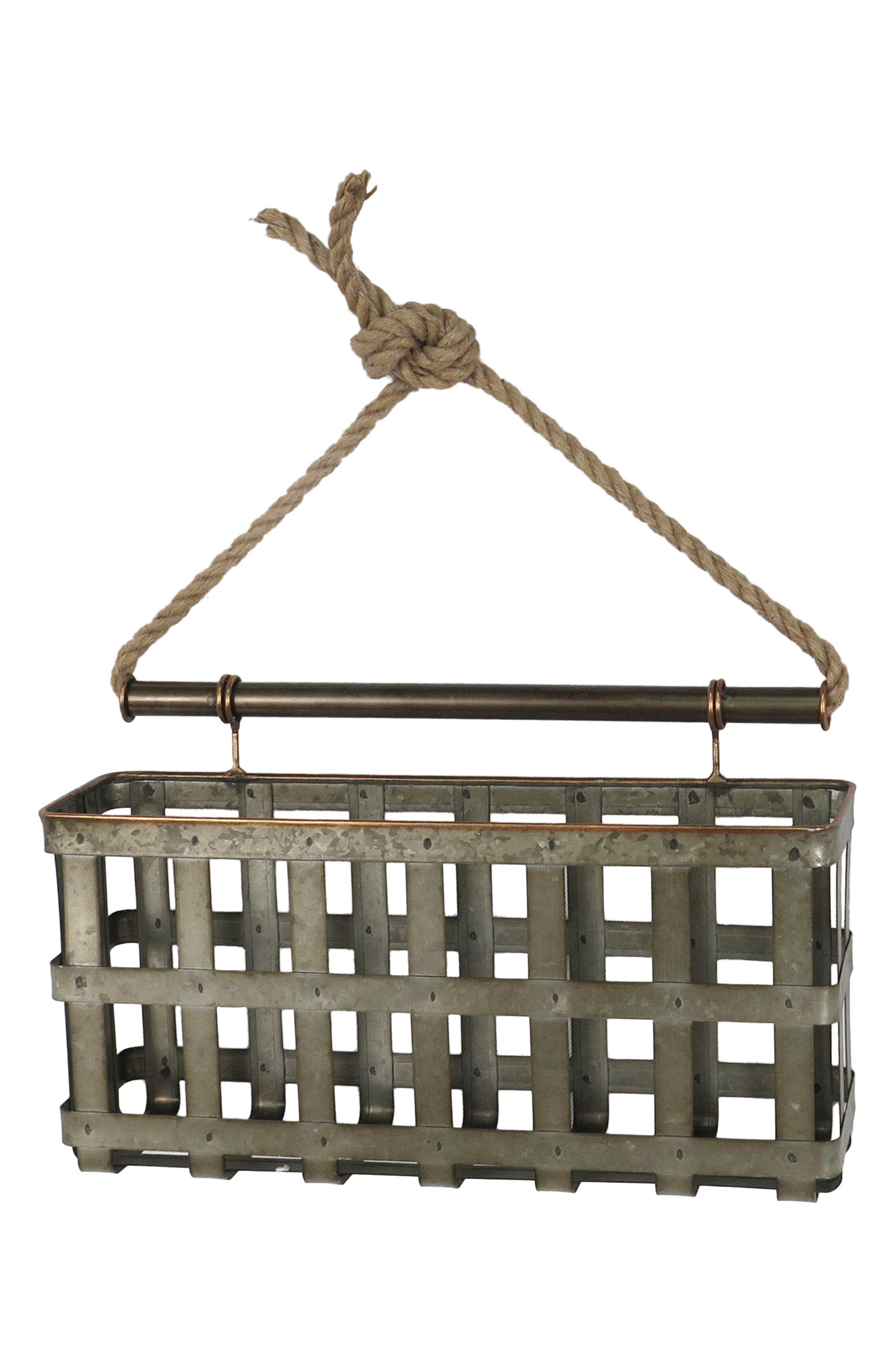 Lattice Wall Basket,                             Main thumbnail 1, color,                             040
