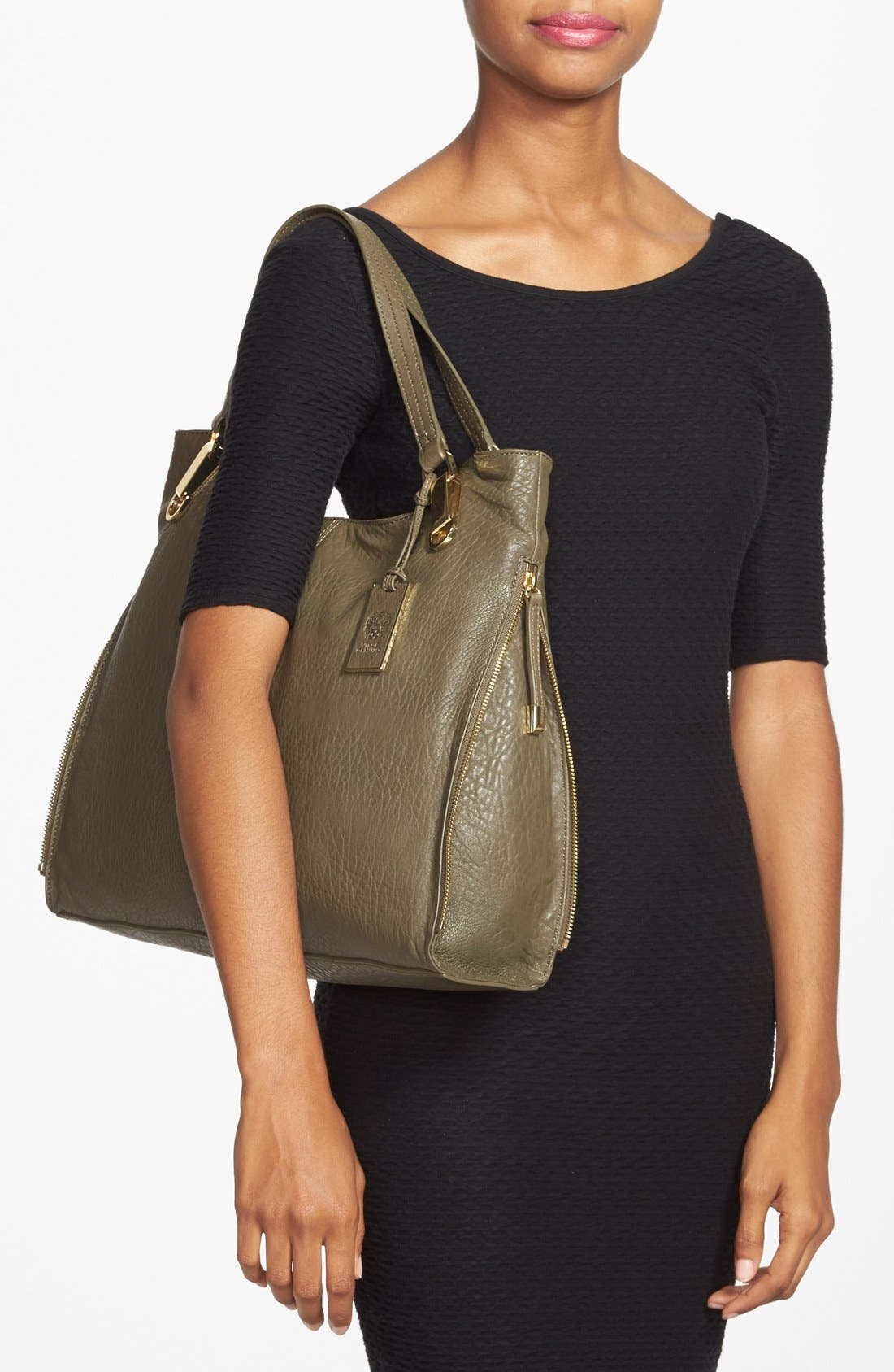 'Riley' Leather Tote,                             Alternate thumbnail 36, color,