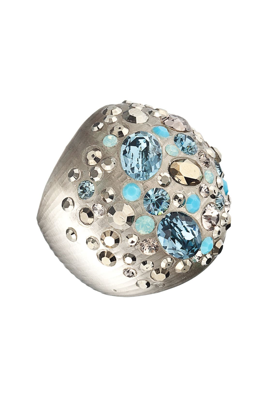 ALEXIS BITTAR,                             'Safari Dust' Pavé Dome Ring,                             Main thumbnail 1, color,                             250