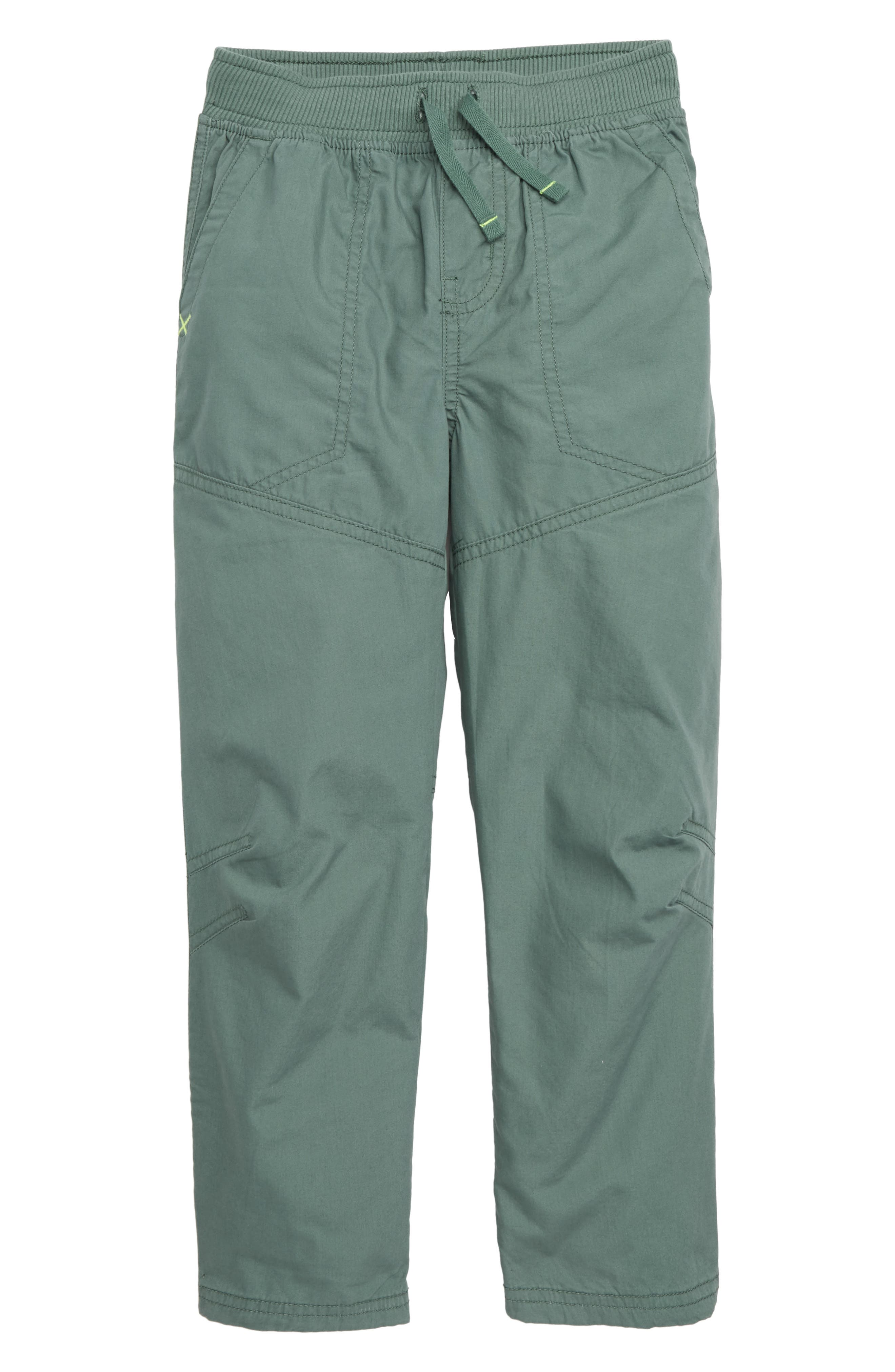 Lined Pants,                             Main thumbnail 1, color,                             FOLIAGE