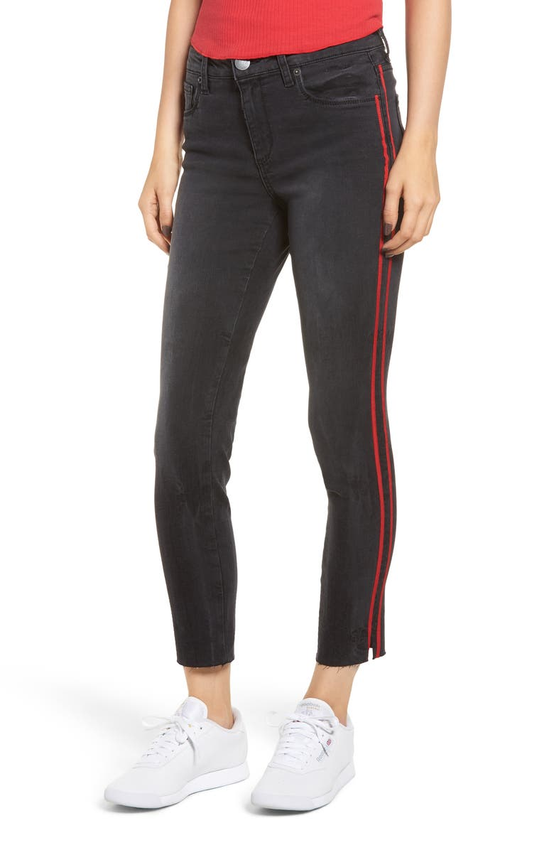 Stella Side Stripe Crop Skinny Jeans