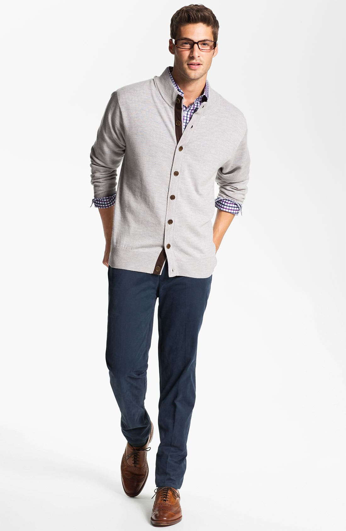 Garment Washed Twill Pants,                             Alternate thumbnail 30, color,