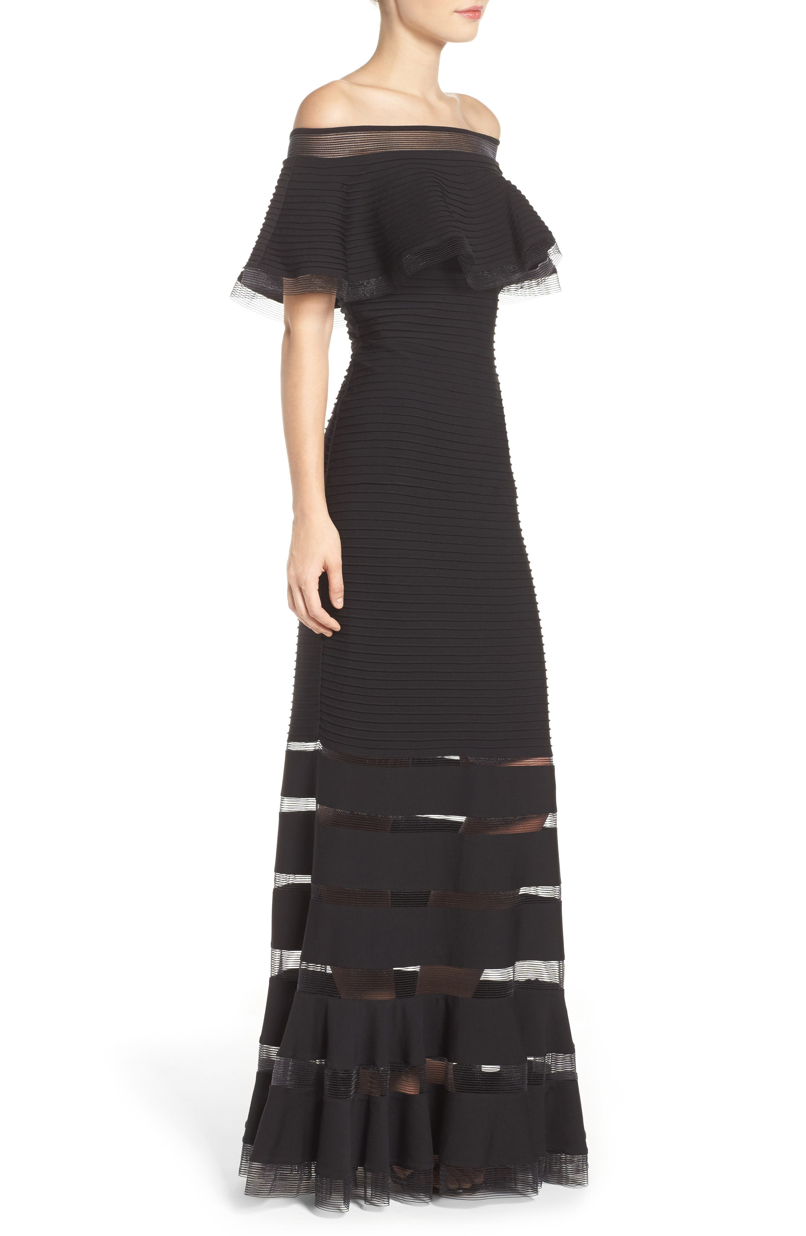 Jersey Gown,                             Alternate thumbnail 3, color,                             001