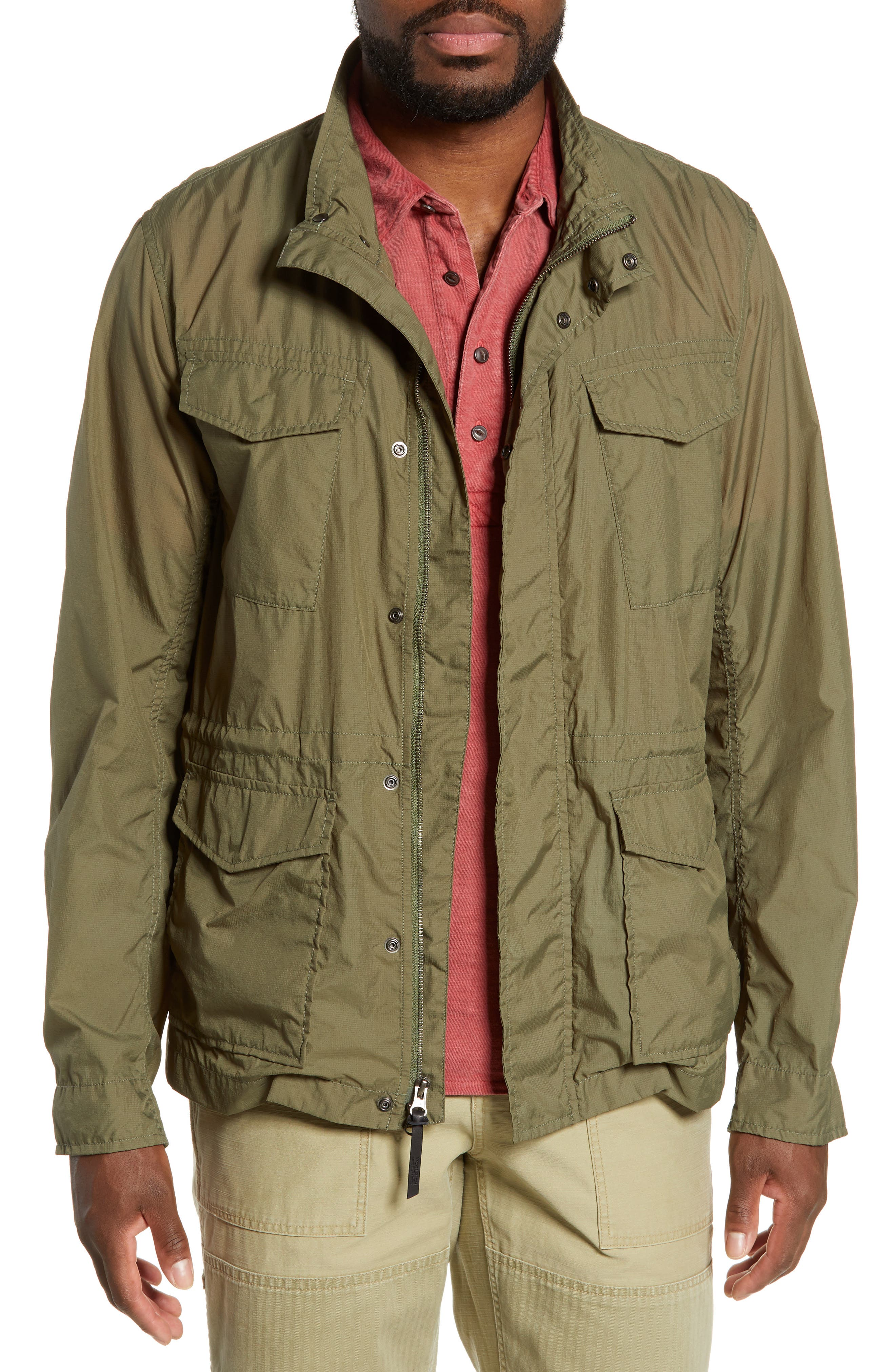 Woolrich Light Travel Jacket, Green