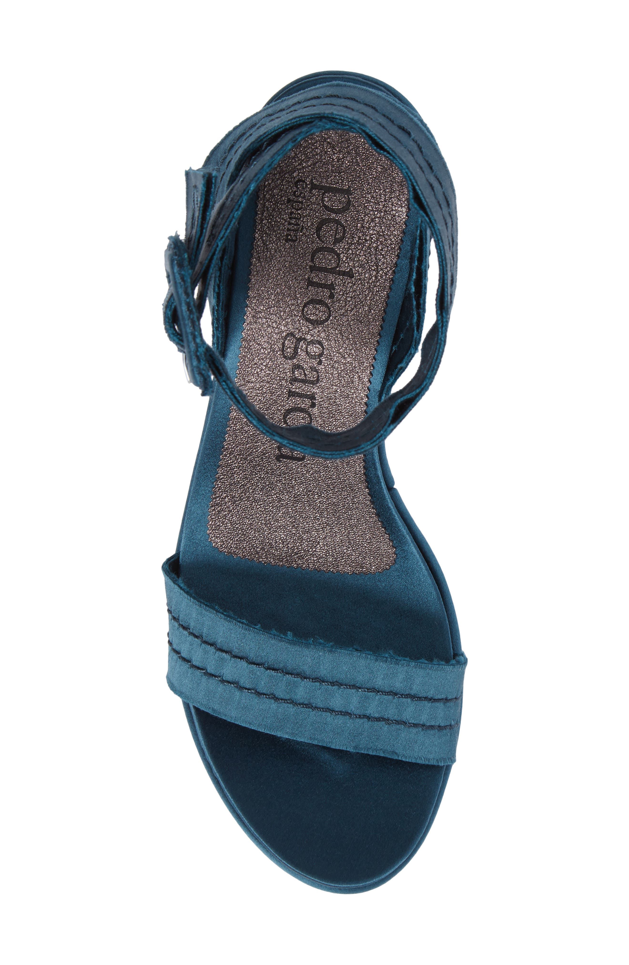 Davida Platform Sandal,                             Alternate thumbnail 5, color,                             400