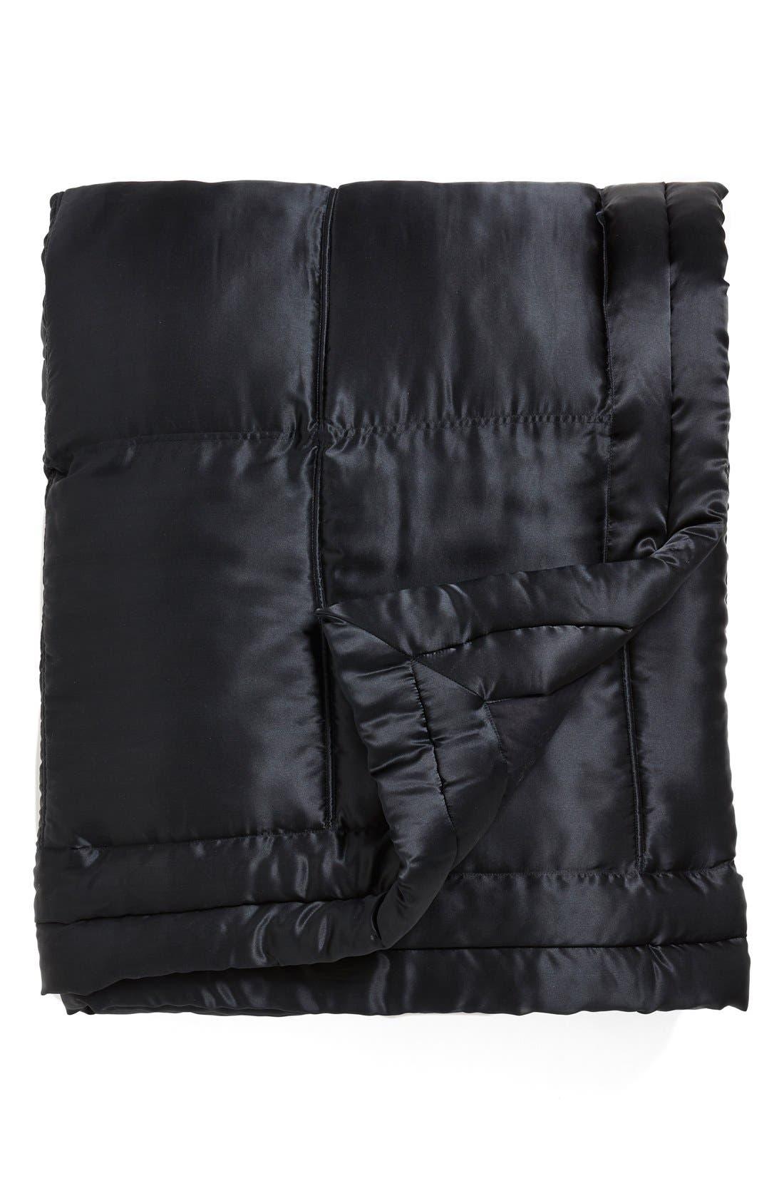 Donna Karan Collection 'Impression' Silk Charmeuse Quilt,                             Main thumbnail 1, color,                             004
