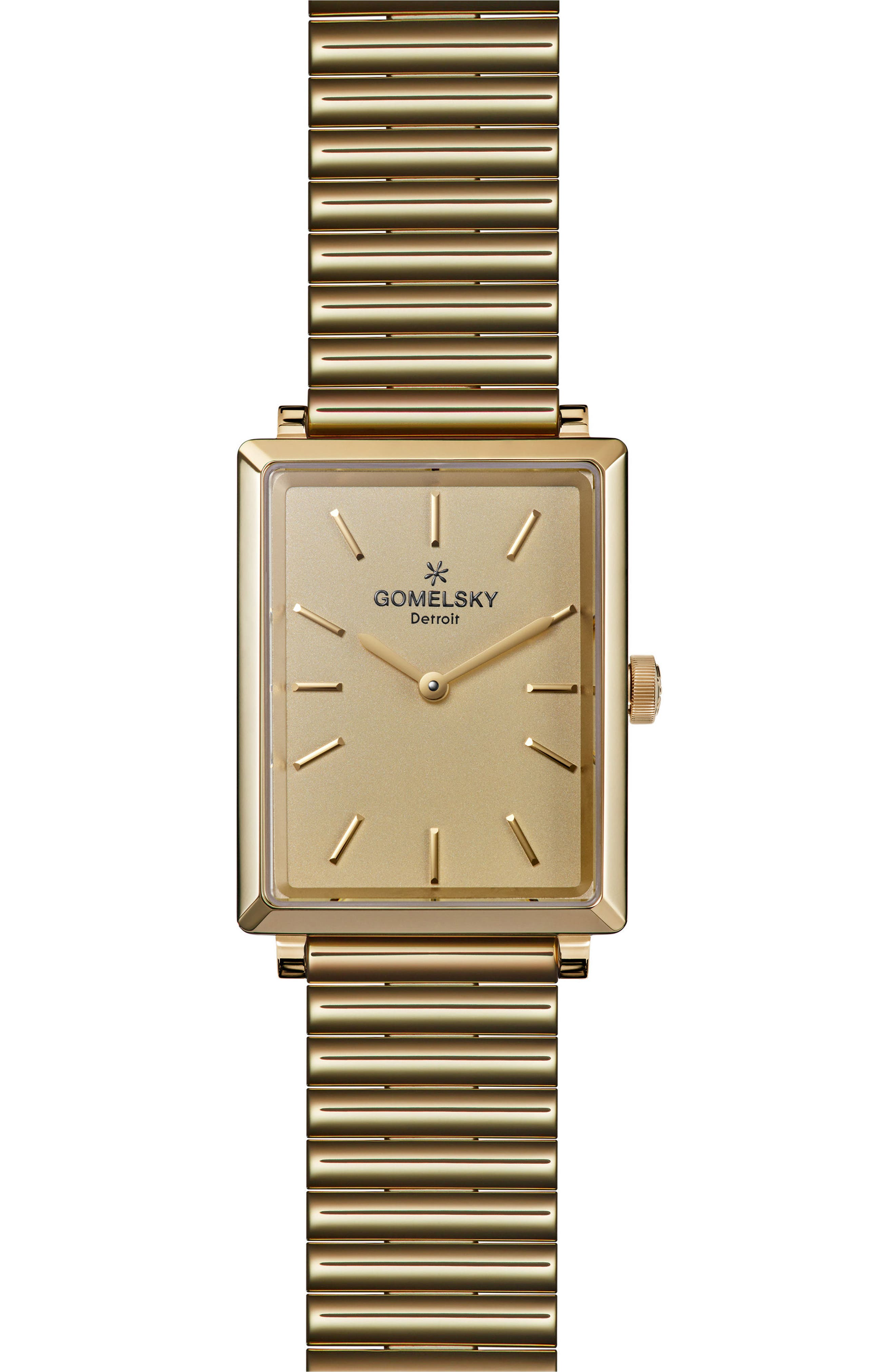 The Shirley Fromer Bracelet Watch, 32mm x 25mm,                         Main,                         color, GOLD