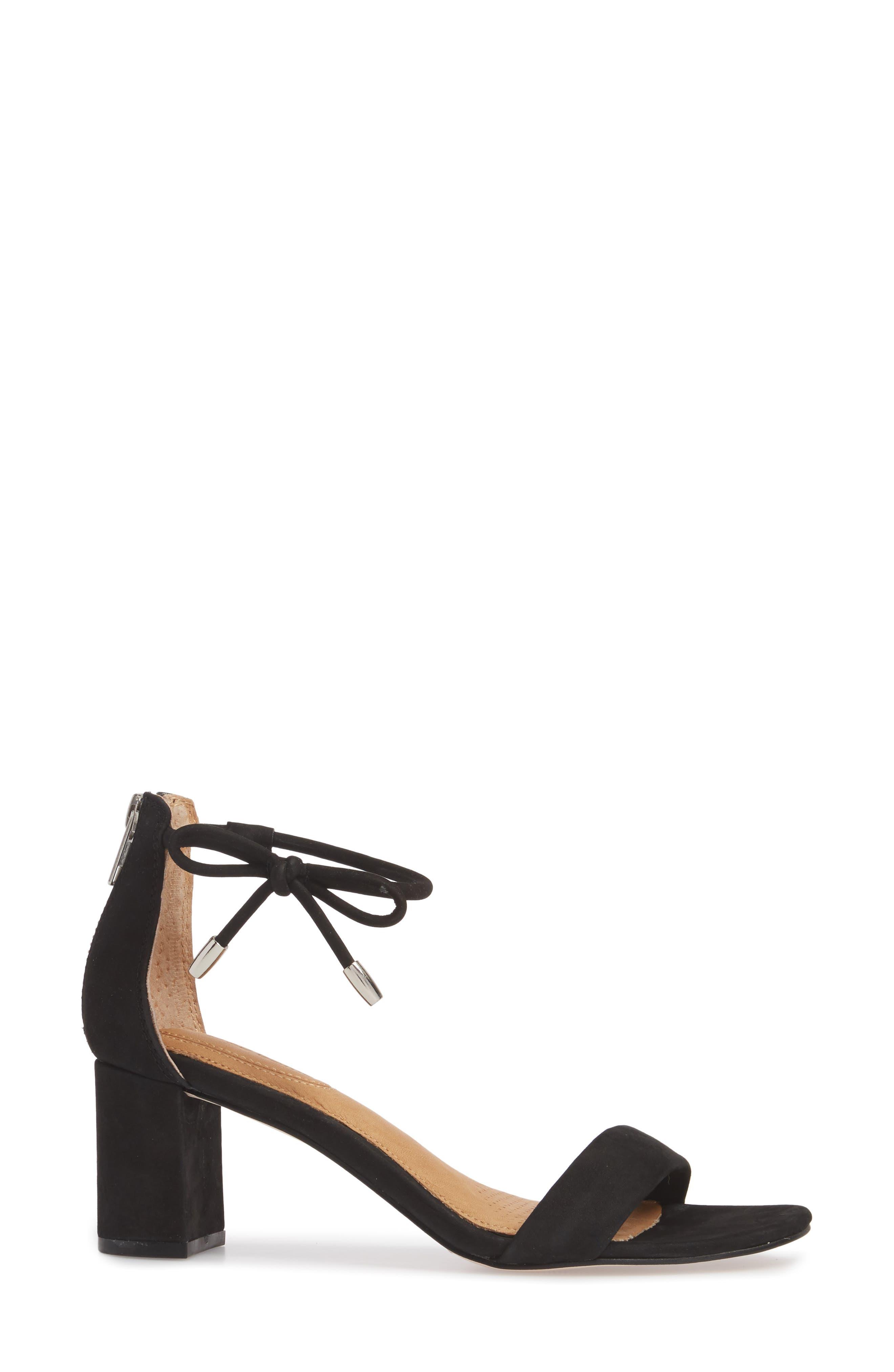 Celebratt Ankle Strap Sandal,                             Alternate thumbnail 3, color,                             001