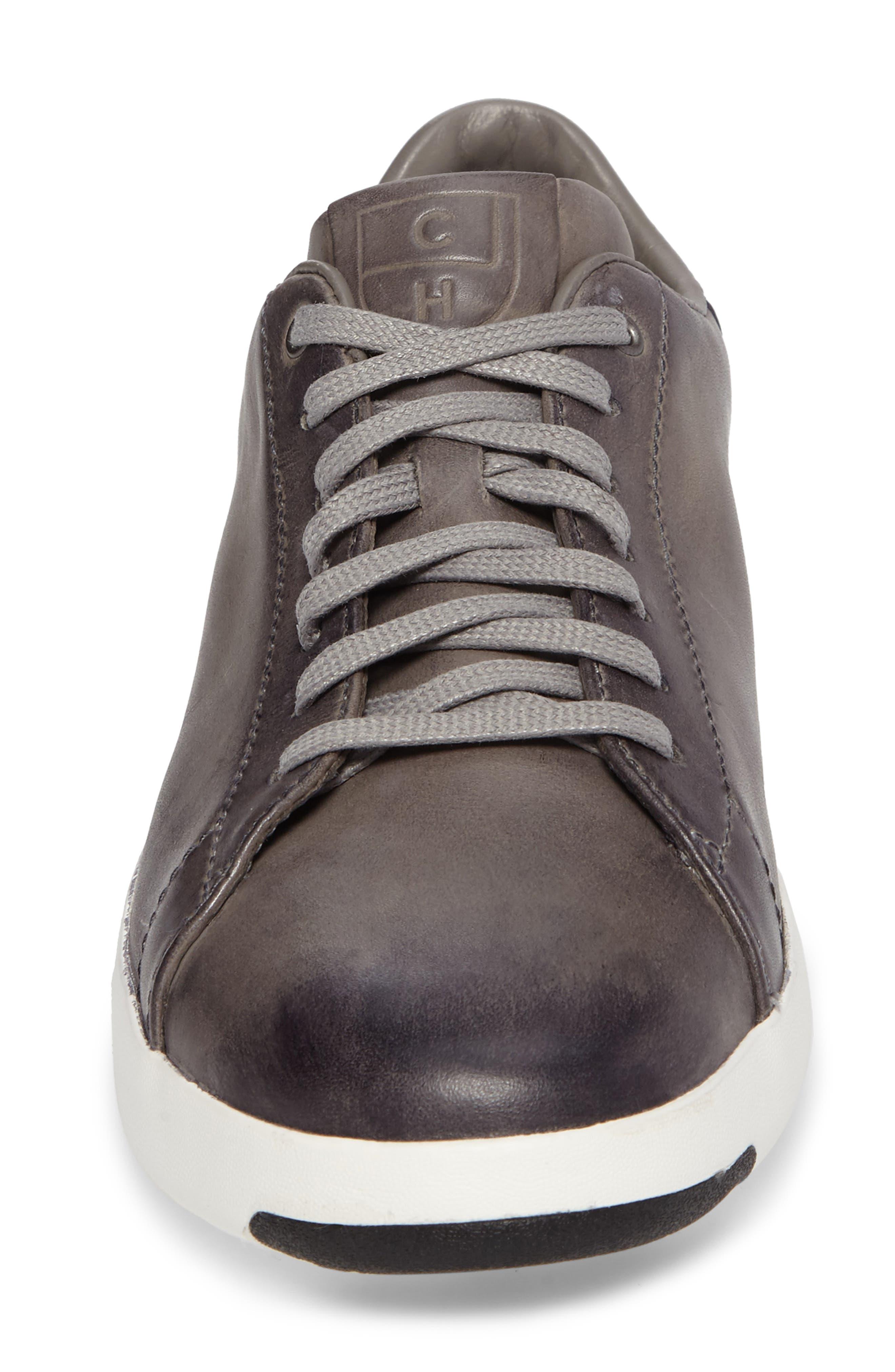 GrandPro Tennis Sneaker,                             Alternate thumbnail 4, color,                             IRONSTONE GRAY HANDSTAIN
