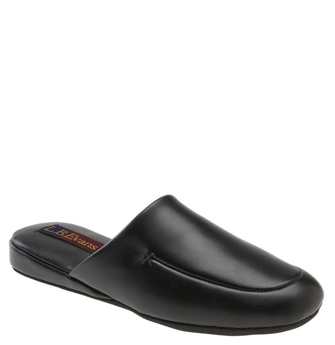 Duke Scuff Slipper, Main, color, Black