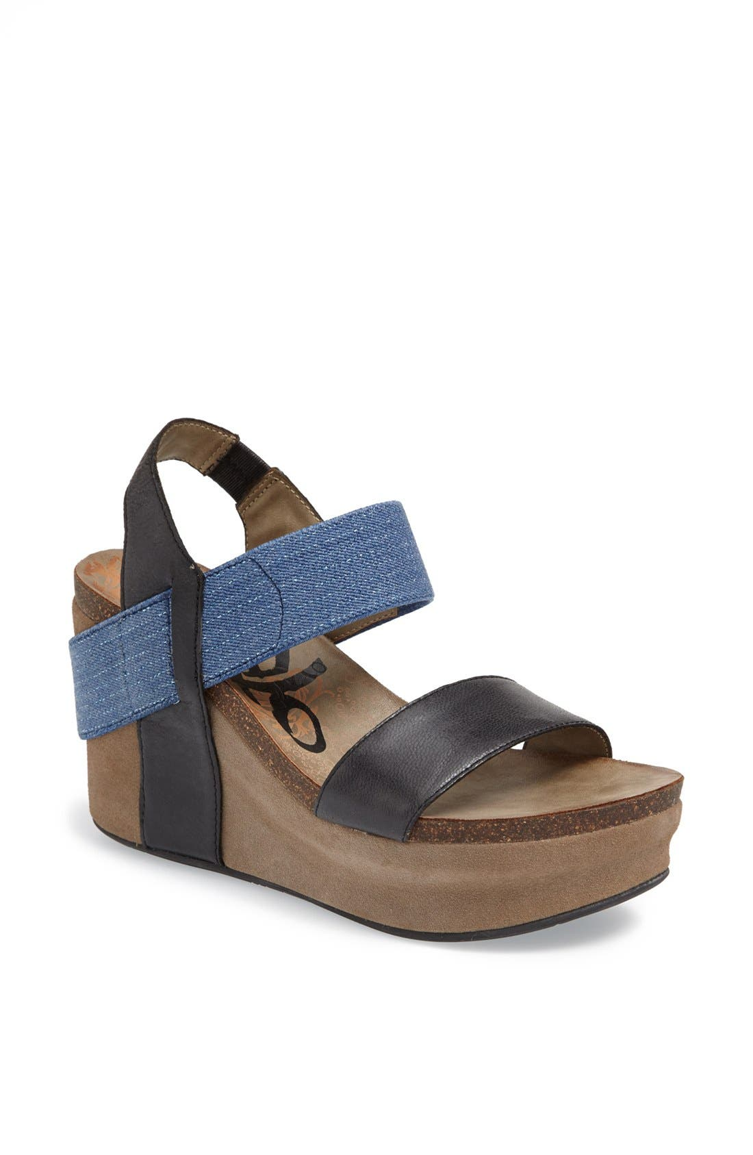 'Bushnell' Wedge Sandal,                             Main thumbnail 11, color,