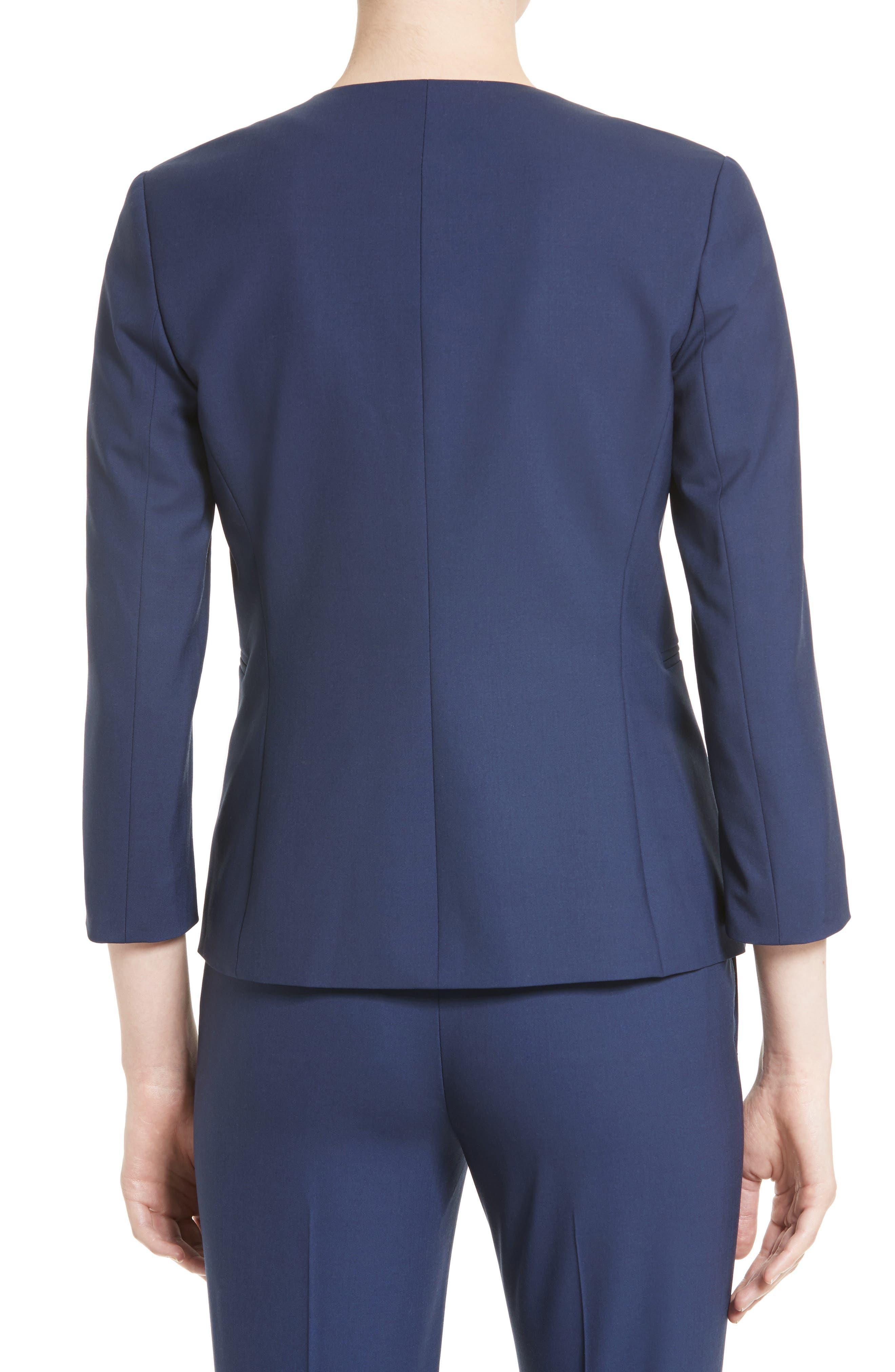 Lindrayia B Good Wool Suit Jacket,                             Alternate thumbnail 6, color,